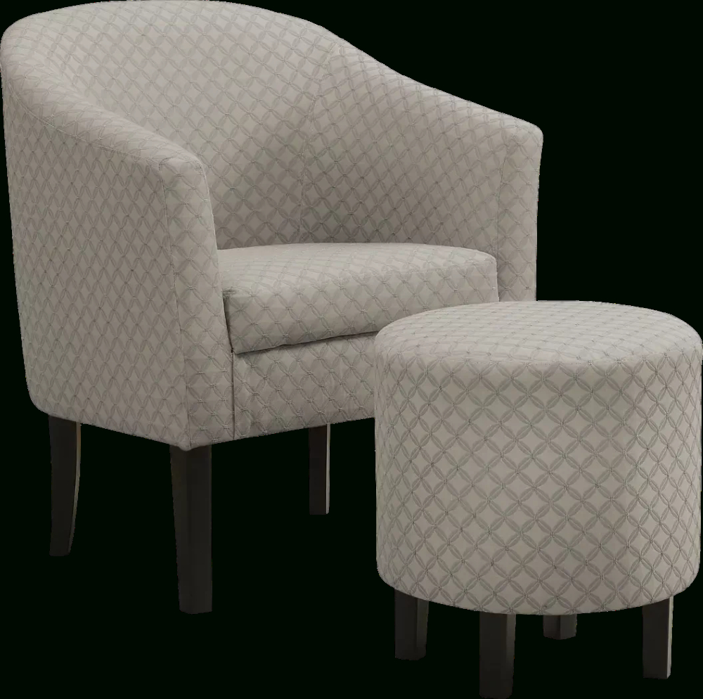 Belcaro Light Gray Accent Chair – Rooms To Go | Light Grey In Jazouli Linen Barrel Chairs And Ottoman (View 15 of 15)
