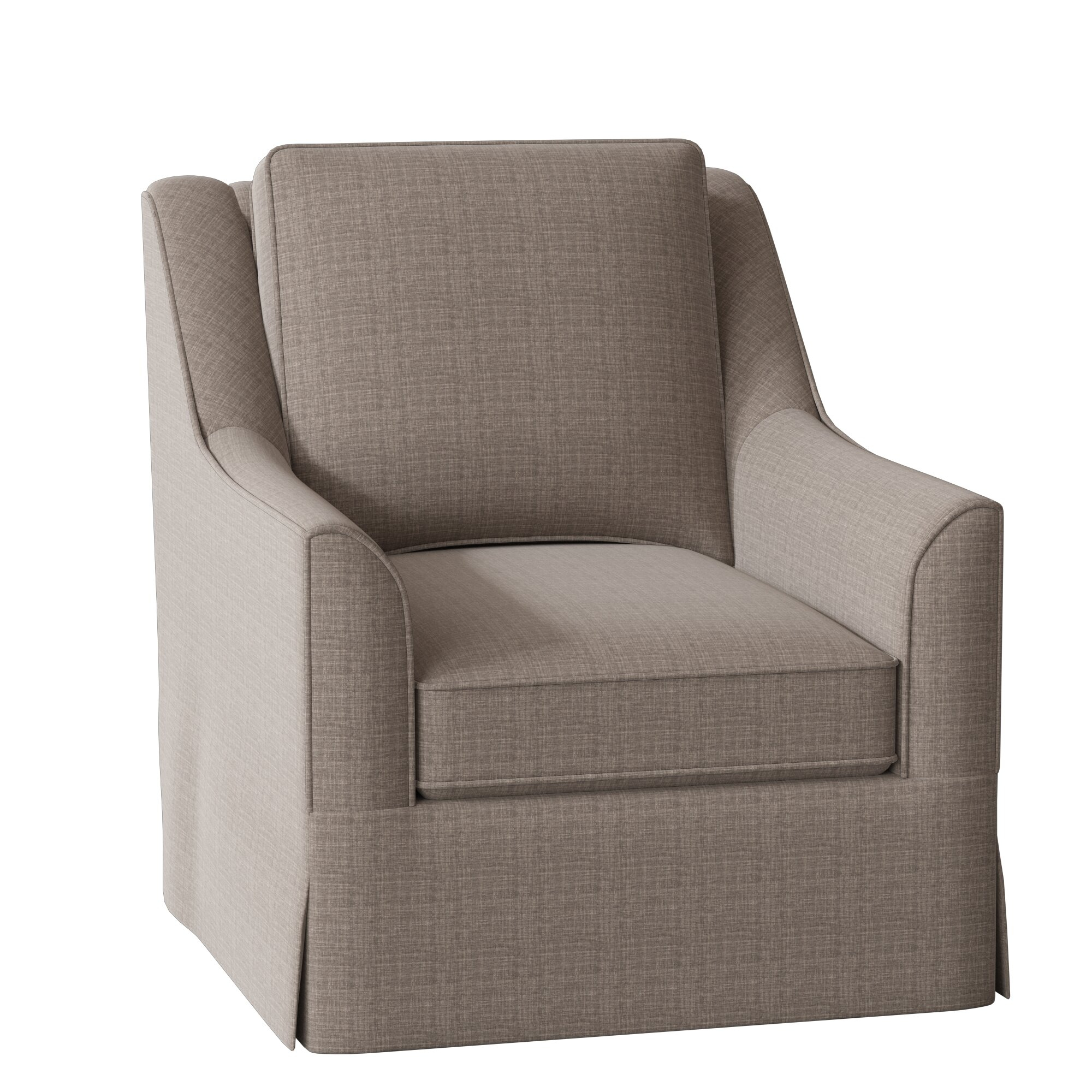 Bella Swivel Armchair Pertaining To Briseno Barrel Chairs (View 9 of 15)