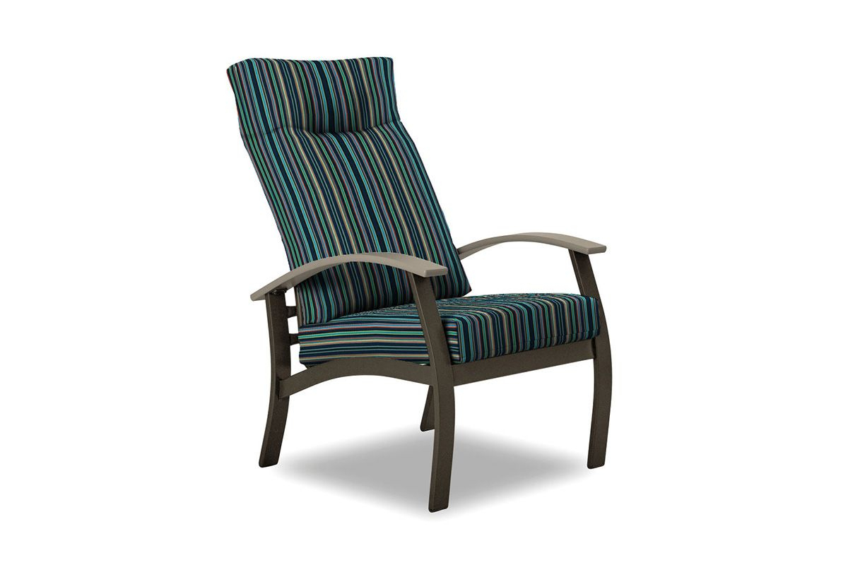 Belle Isle Cushion Supreme Arm Chair W/ High Back Intended For Beachwood Arm Chairs (View 13 of 15)