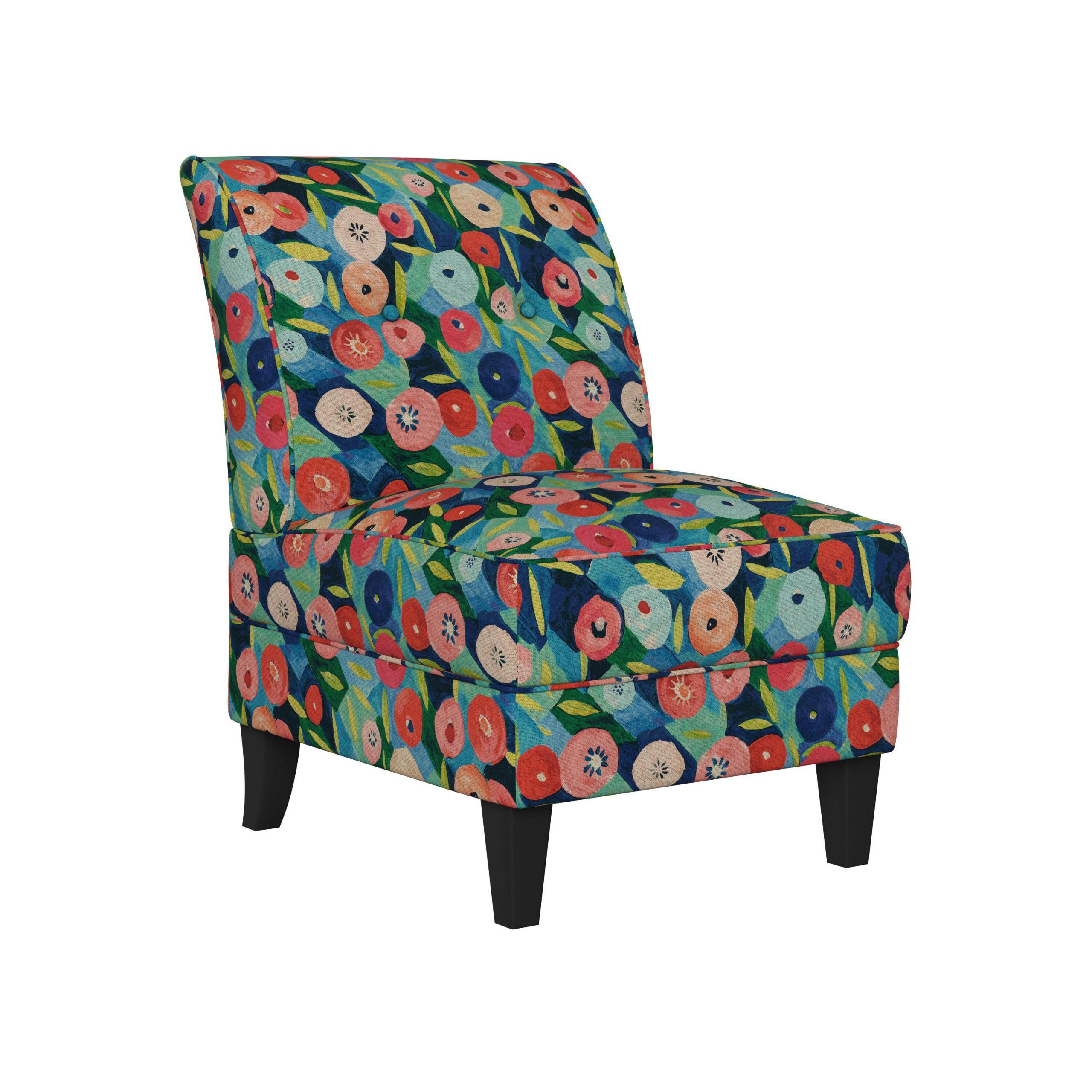 Best Abbaas Slipper Chair | Furniture Online Within Easterling Velvet Slipper Chairs (View 12 of 15)