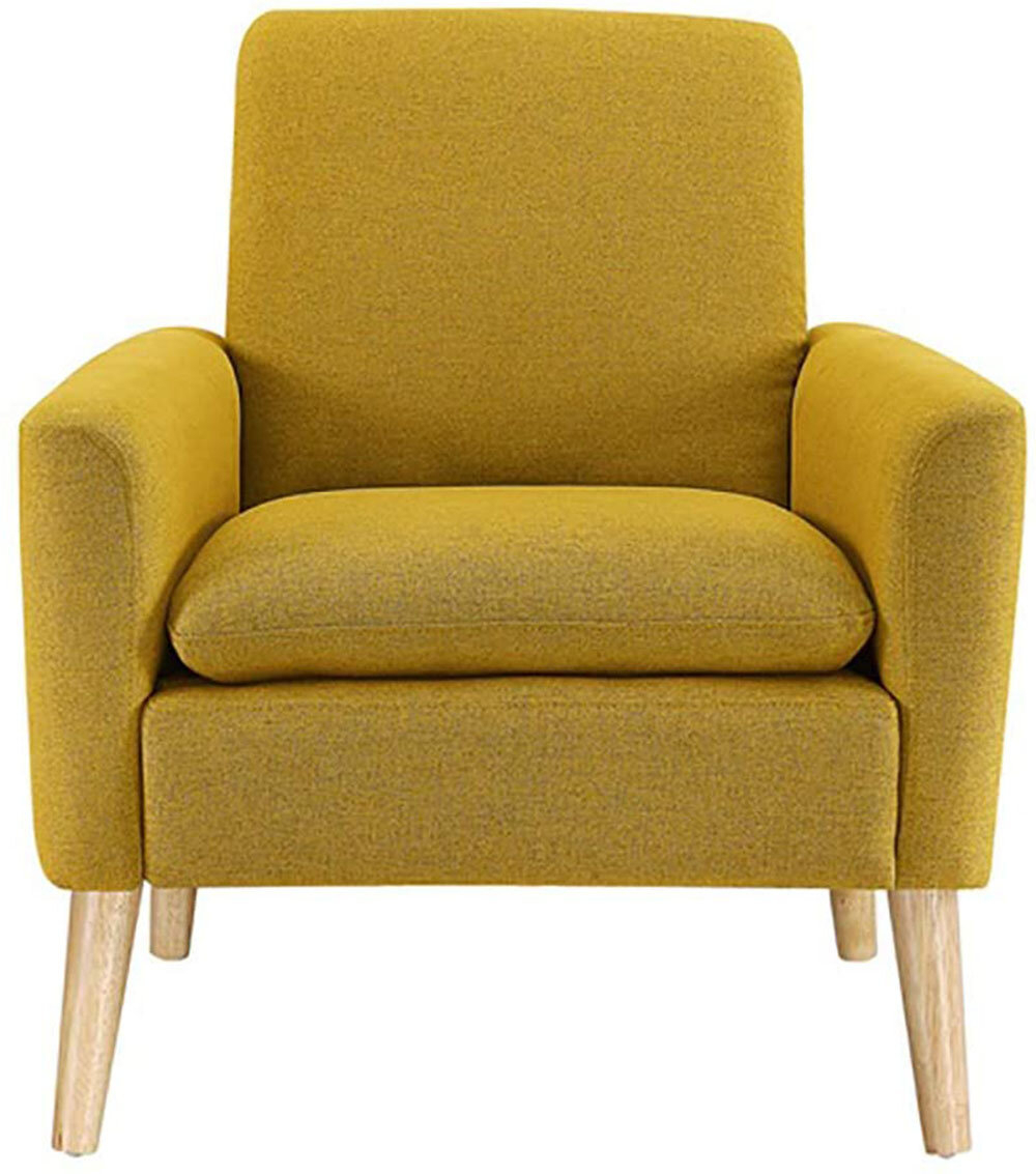 "Biggerstaff 30"" W Polyester Blend Armchair Throughout Polyester Blend Armchairs (View 3 of 15)"