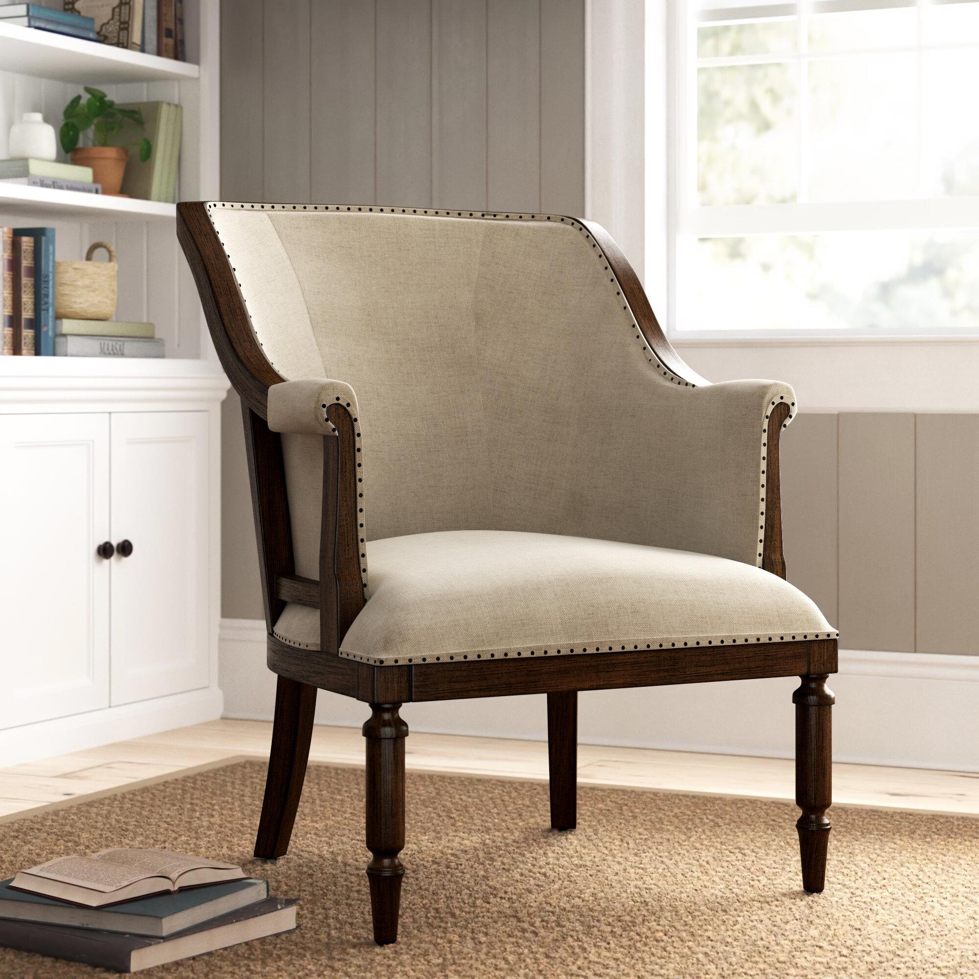 Birch Lane™ Cohasset Armchair Regarding Altamahaw Swoop Side Chairs (View 10 of 15)