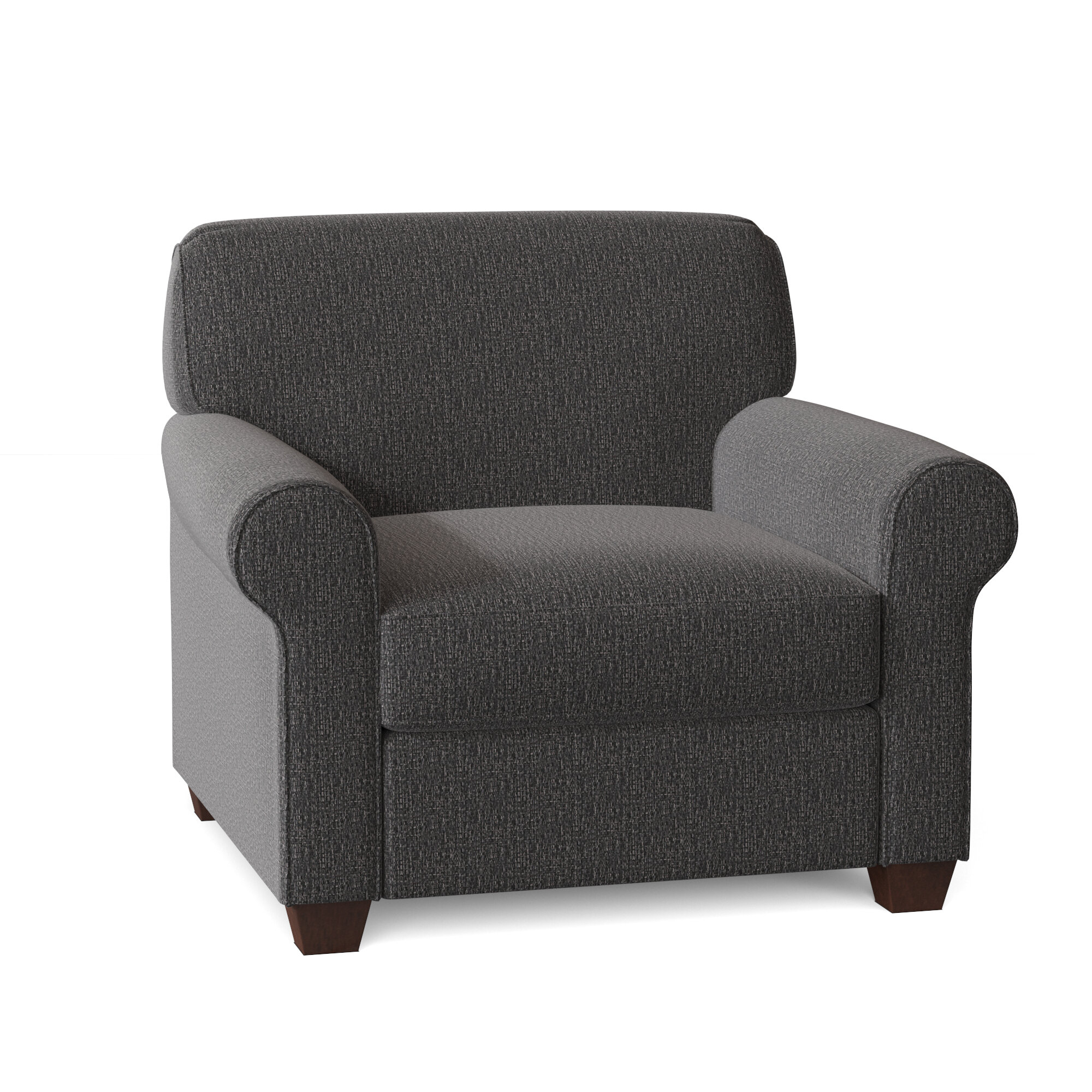 Black Silver Accent Chairs You'Ll Love In 2021 | Wayfair Inside Brookhhurst Avina Armchairs (View 5 of 15)