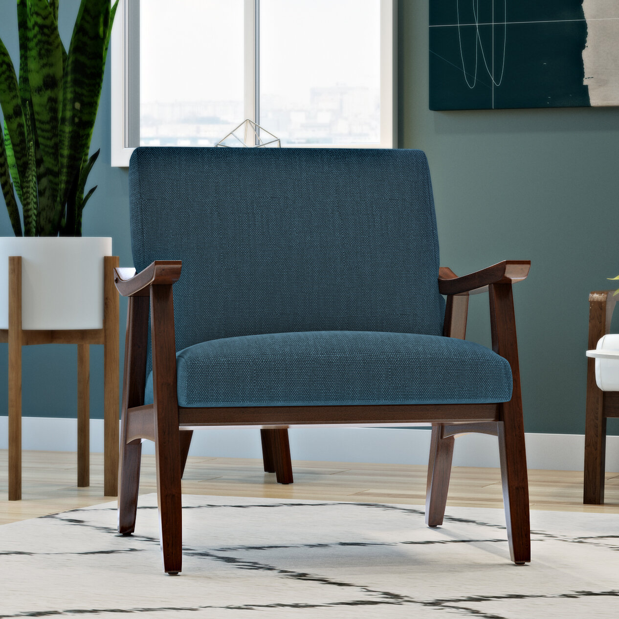 Blue Accent Chairs You'Ll Love In 2021 | Wayfair (View 8 of 15)