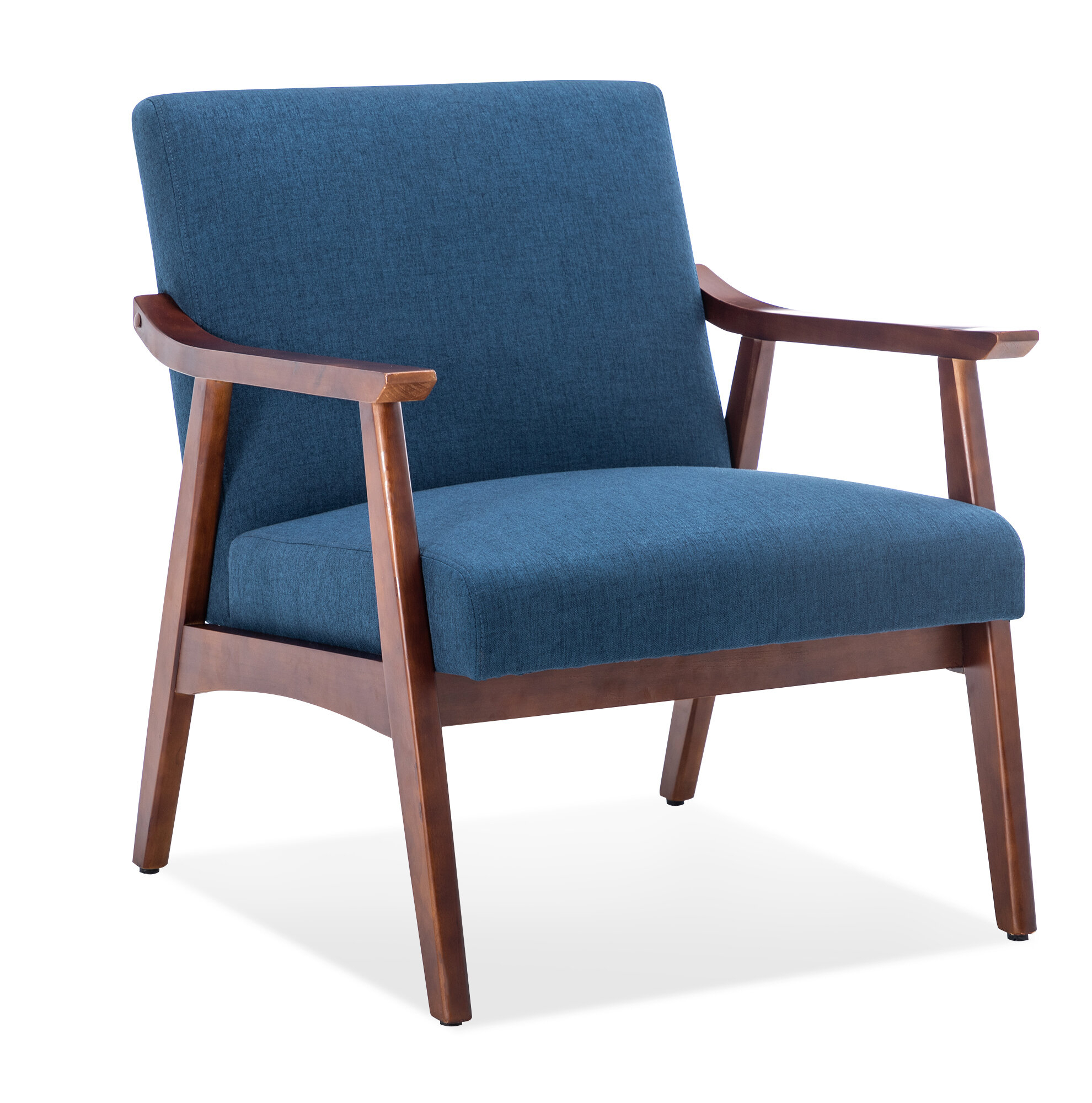 Blue & Navy Accent Chairs You'Ll Love In 2021 | Wayfair Regarding Dallin Arm Chairs (View 3 of 15)