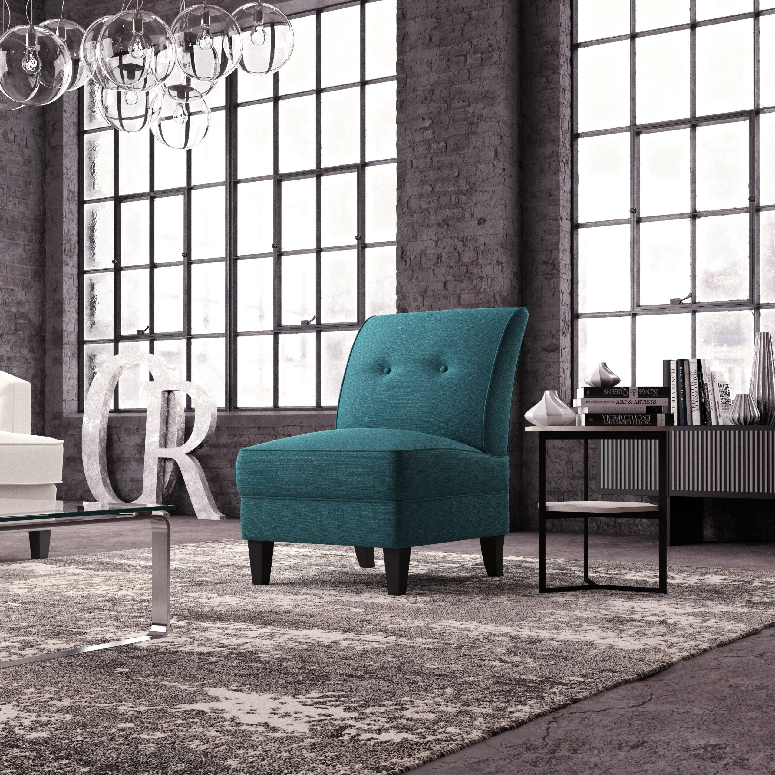Blue Slipper Accent Chairs You'Ll Love In 2021 | Wayfair With Goodyear Slipper Chairs (View 8 of 15)