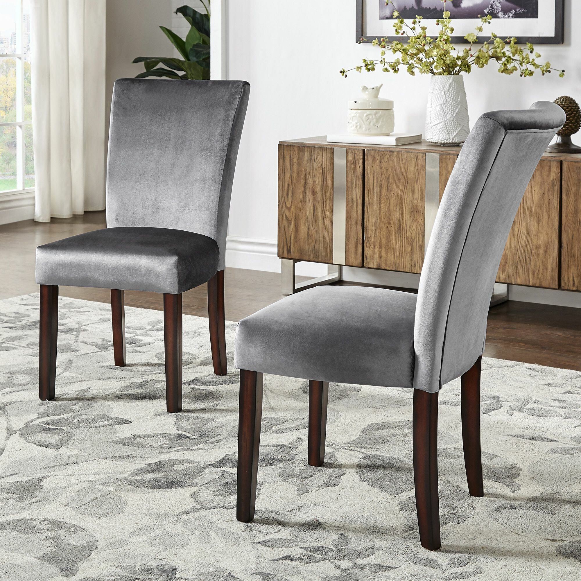 Blue Three Posts™ Small Accent Chairs You'Ll Love In 2020 Regarding Daleyza Slipper Chairs (View 5 of 15)