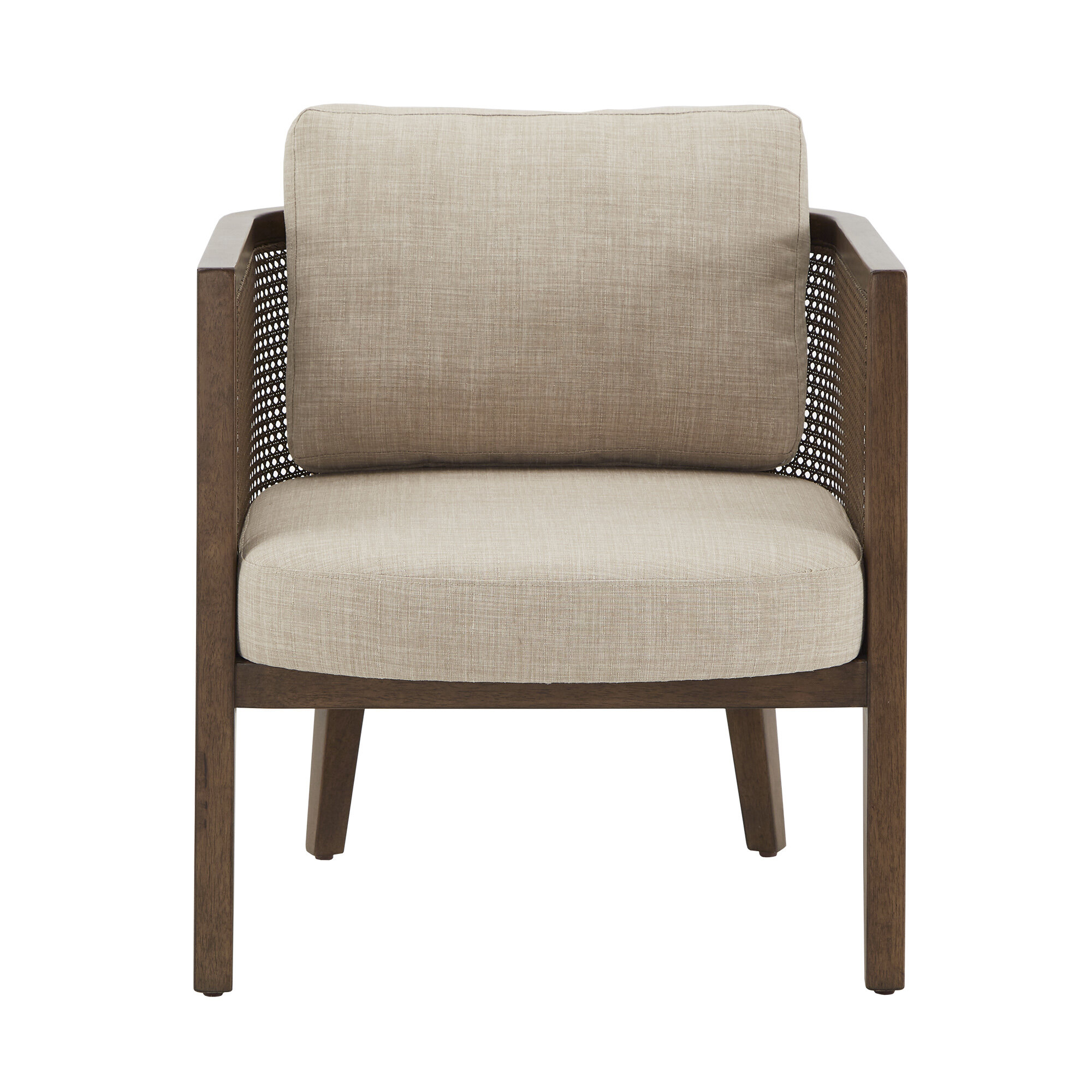 "Boisvert 27"" W Polyester Blend Armchair Inside Polyester Blend Armchairs (View 11 of 15)"