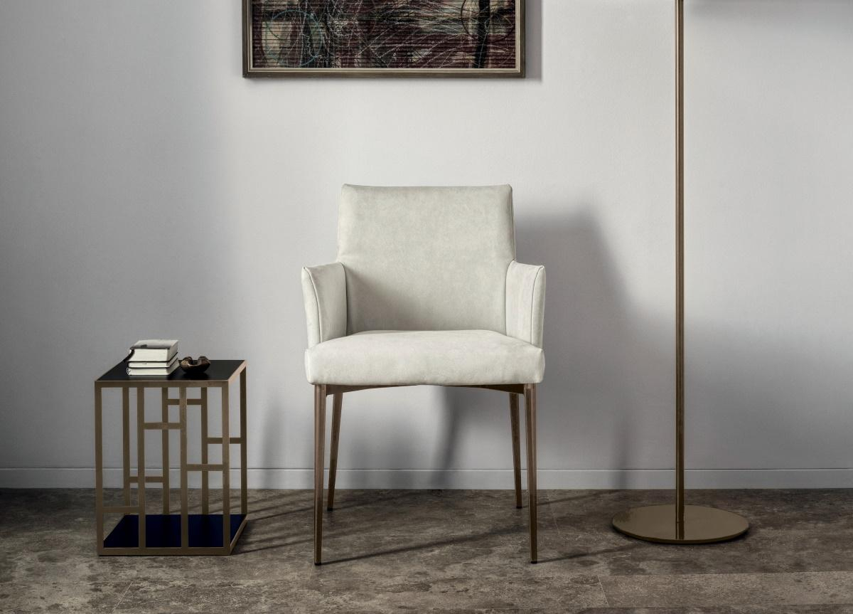 Bontempi Mila Dining Chair/Armchair Regarding Almada Armchairs (View 15 of 15)