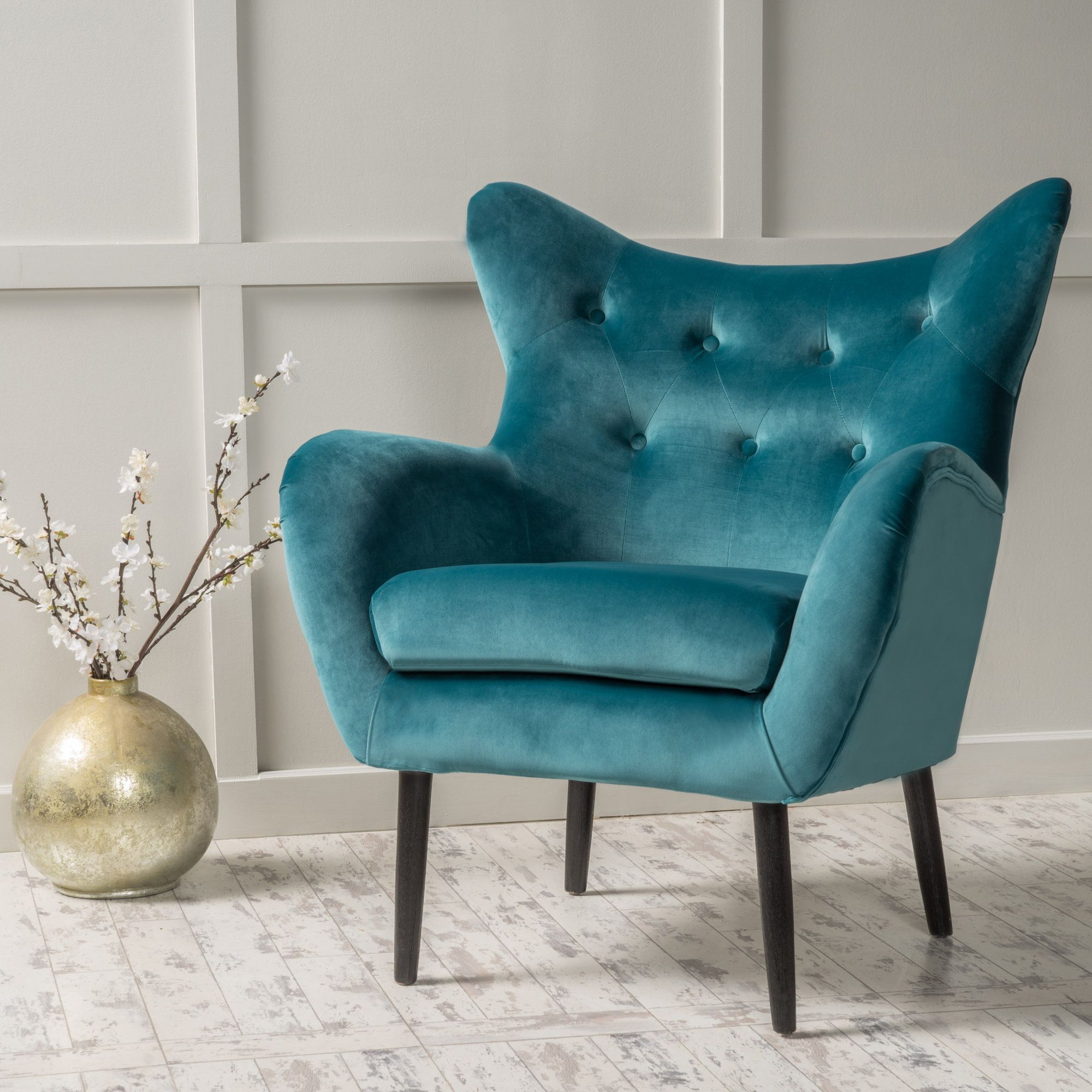 Bouck 21'' Wingback Chair | Living Room Chairs, Living Room Intended For Bouck Wingback Chairs (View 9 of 15)