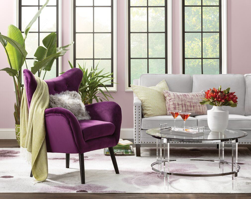 Bouck 21'' Wingback Chair | Wingback Chair, Living Room Inside Bouck Wingback Chairs (View 8 of 15)
