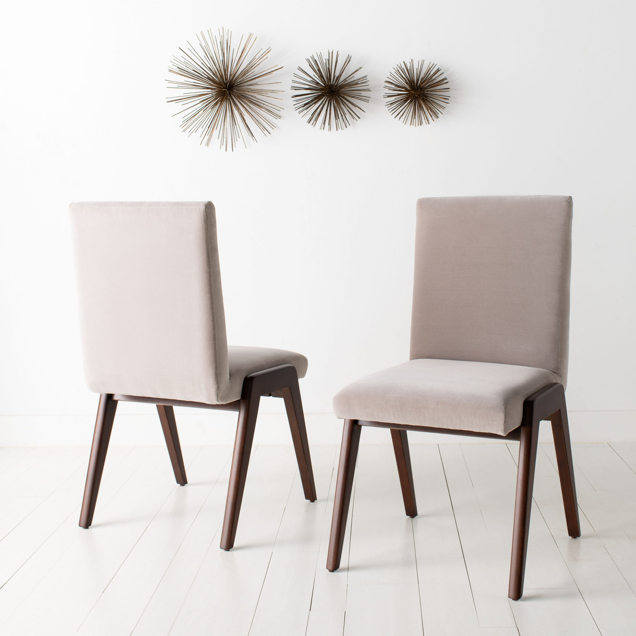 Bricker Upholstered Dining Chair Within Bob Stripe Upholstered Dining Chairs (Set Of 2) (View 14 of 15)