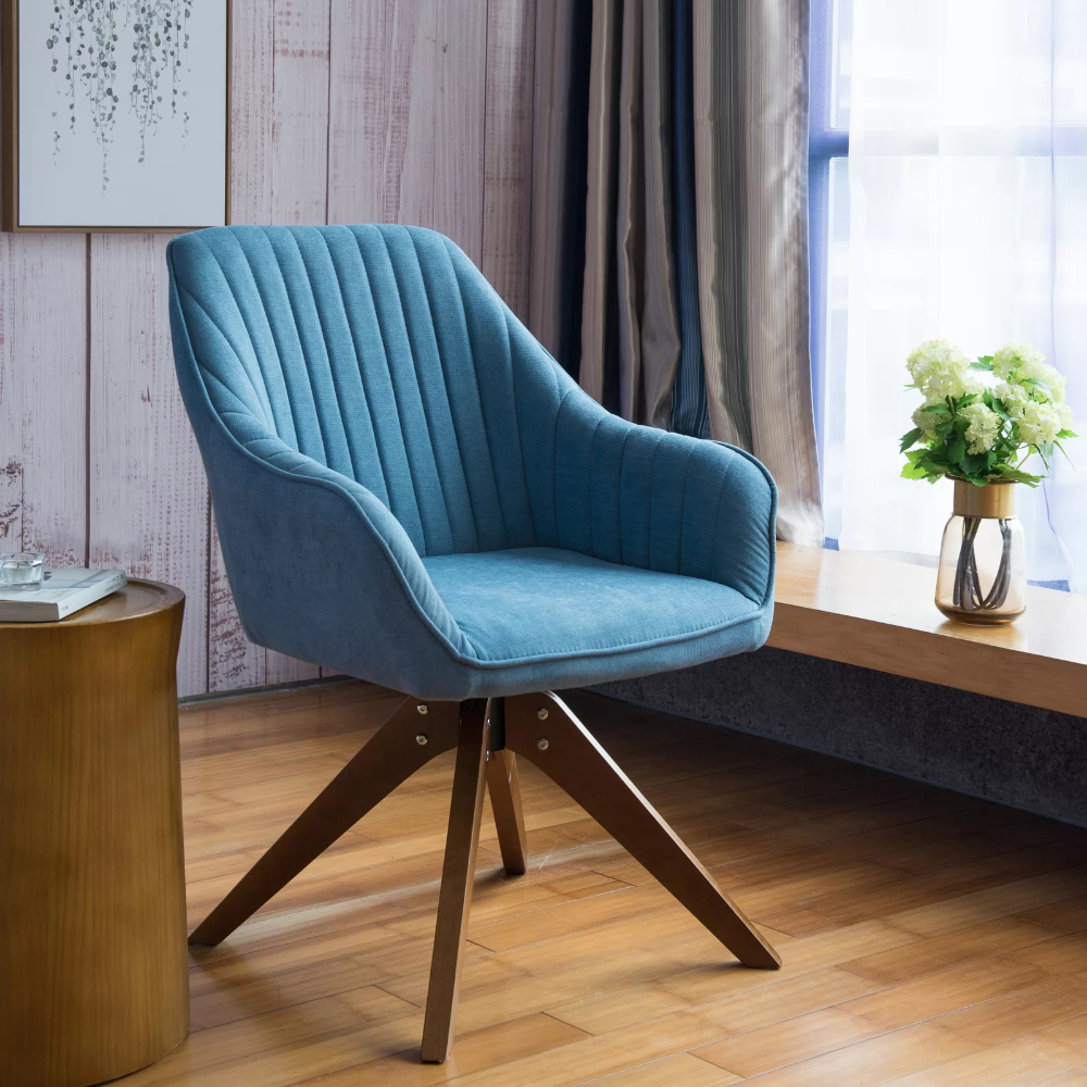 Brister Swivel Side Chair In 2020 | Side Chairs, Accent Inside Brister Swivel Side Chairs (View 4 of 15)