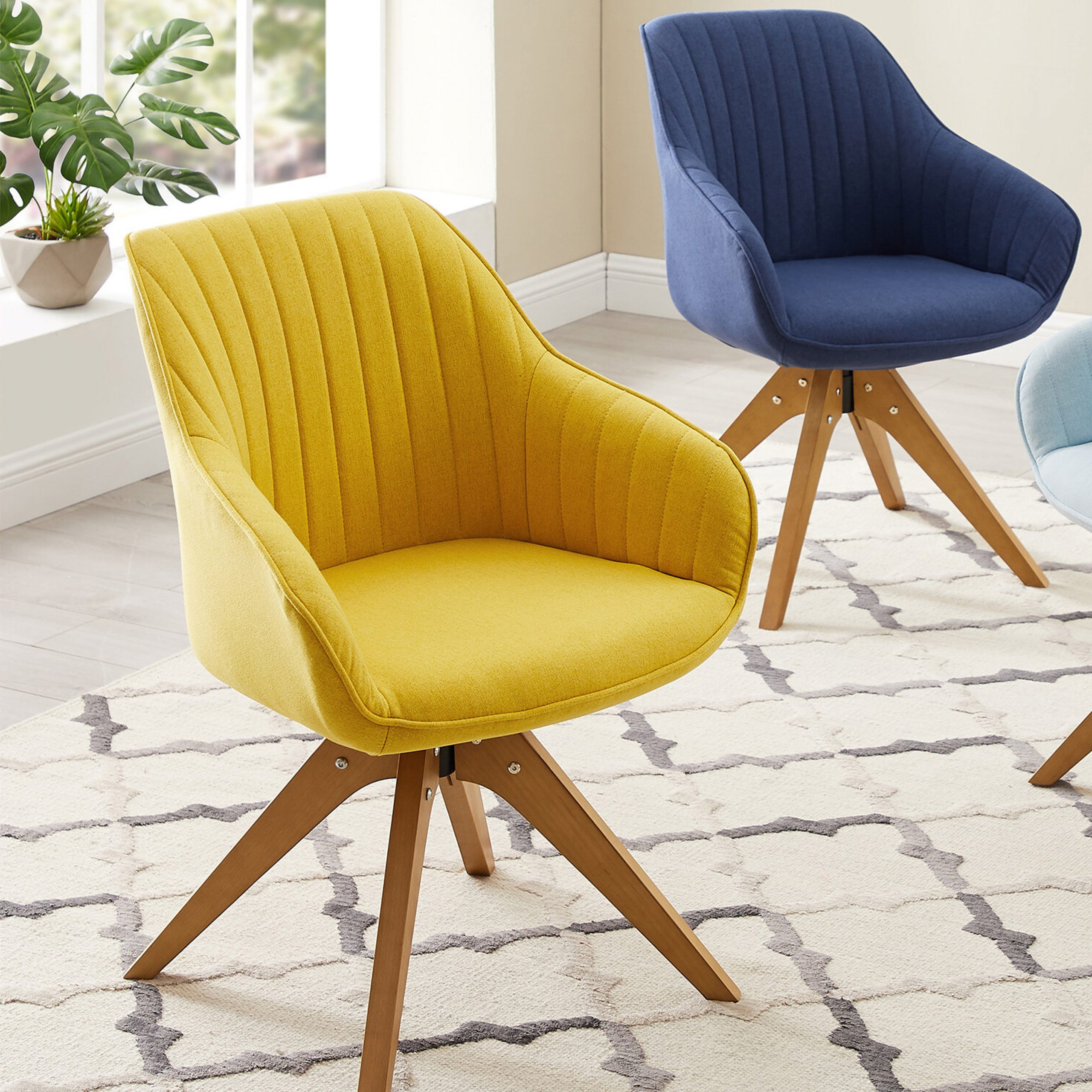 Brister Swivel Side Chair In Brister Swivel Side Chairs (View 7 of 15)