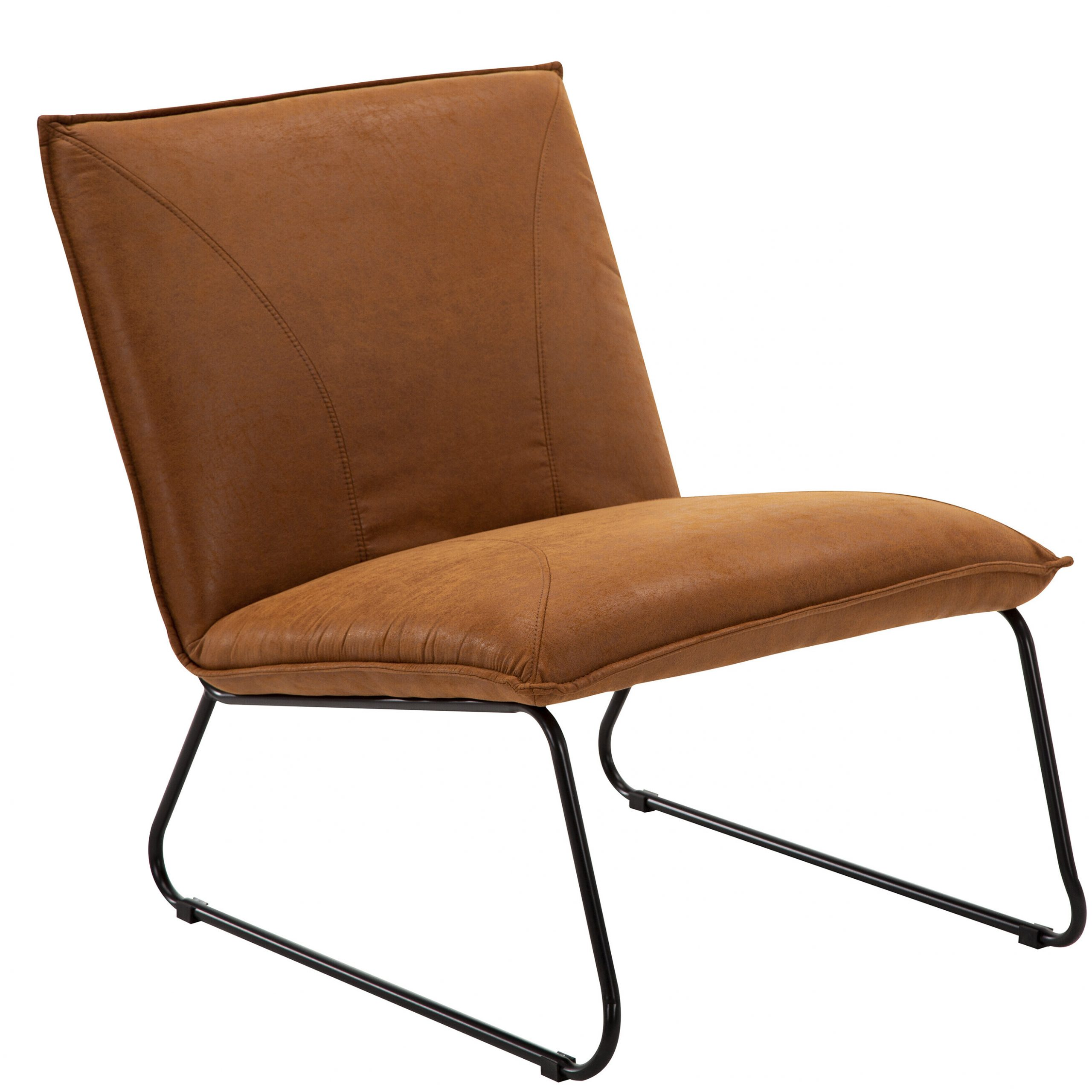Featured Image of Broadus Genuine Leather Suede Side Chairs