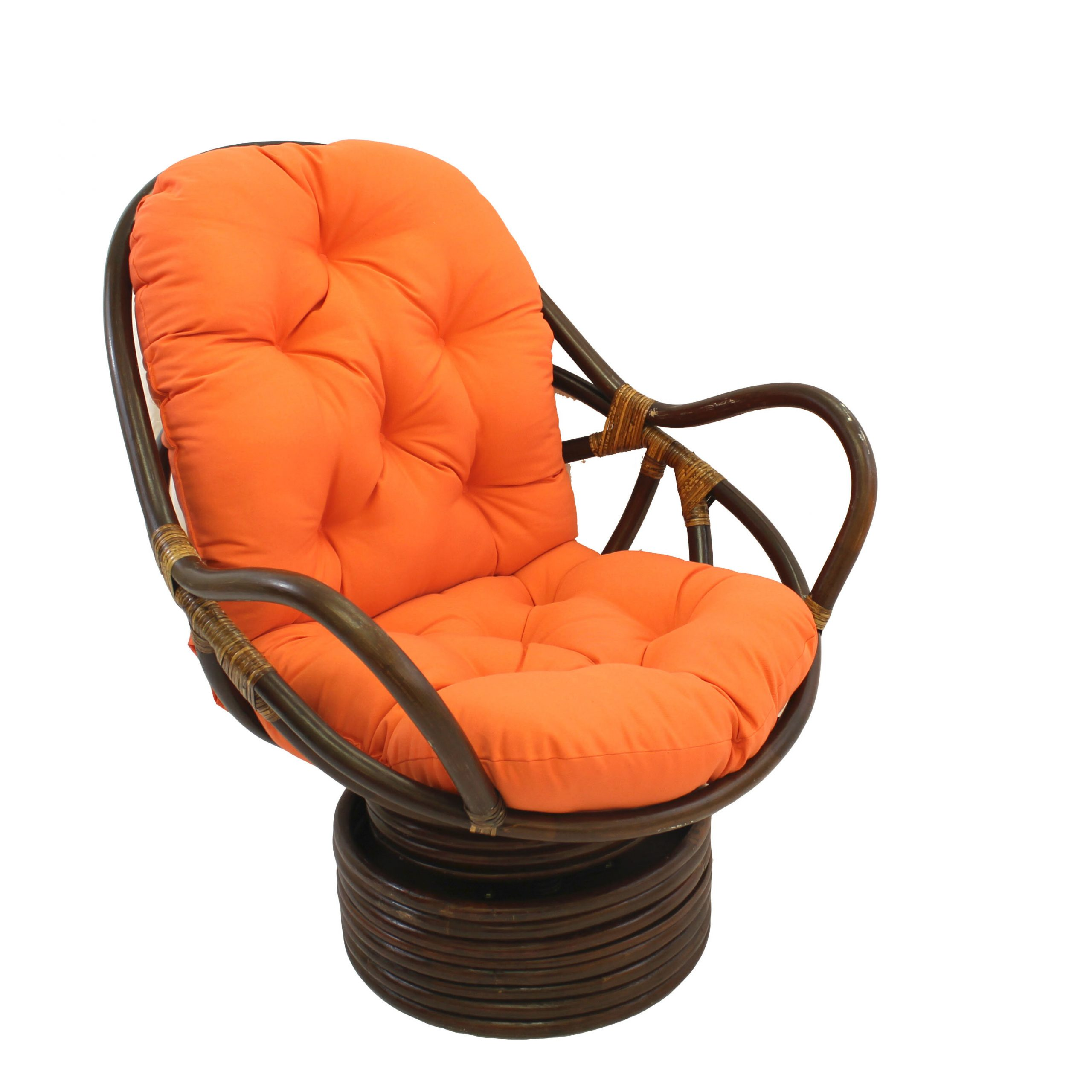 Brown Orange Accent Chairs You'Ll Love In 2021 | Wayfair Regarding Artressia Barrel Chairs (View 5 of 15)