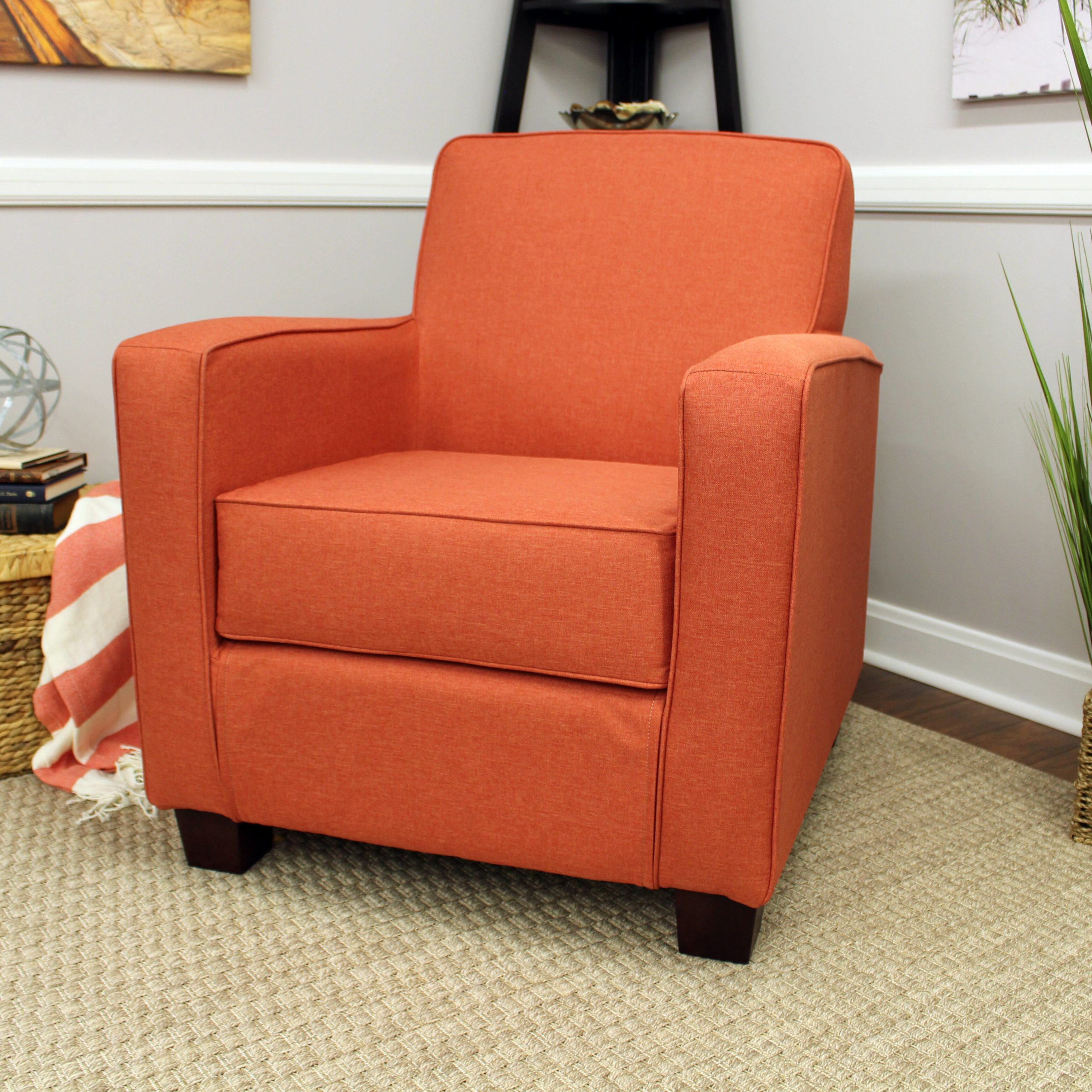 Brown Orange Accent Chairs You'Ll Love In 2021 | Wayfair Throughout Artressia Barrel Chairs (View 11 of 15)