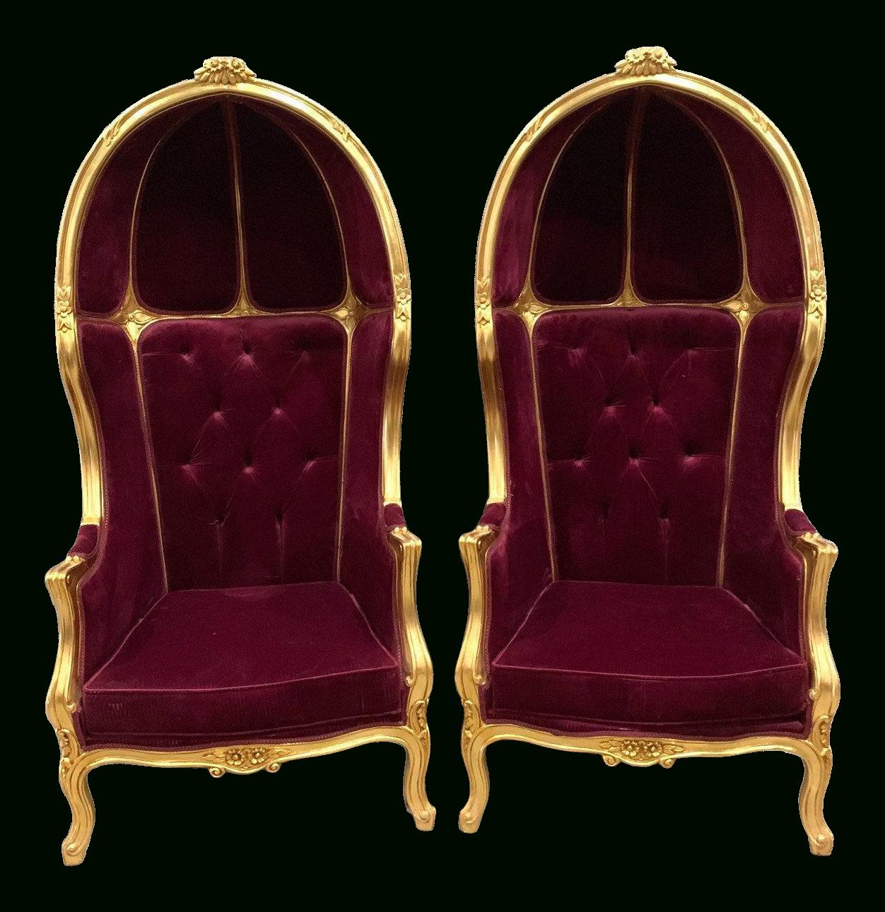 Burgundy Velvet Wingback Chair Inside Lenaghan Wingback Chairs (View 15 of 15)