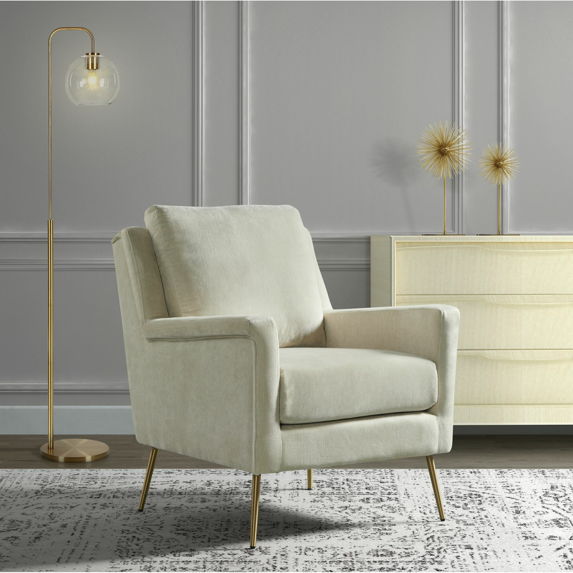 Cagle Armchair Within Kasha Armchairs (View 7 of 15)