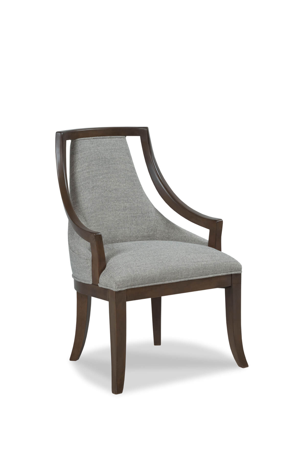 Caldwell Upholstered Dining Arm Chair Regarding Caldwell Armchairs (View 2 of 15)