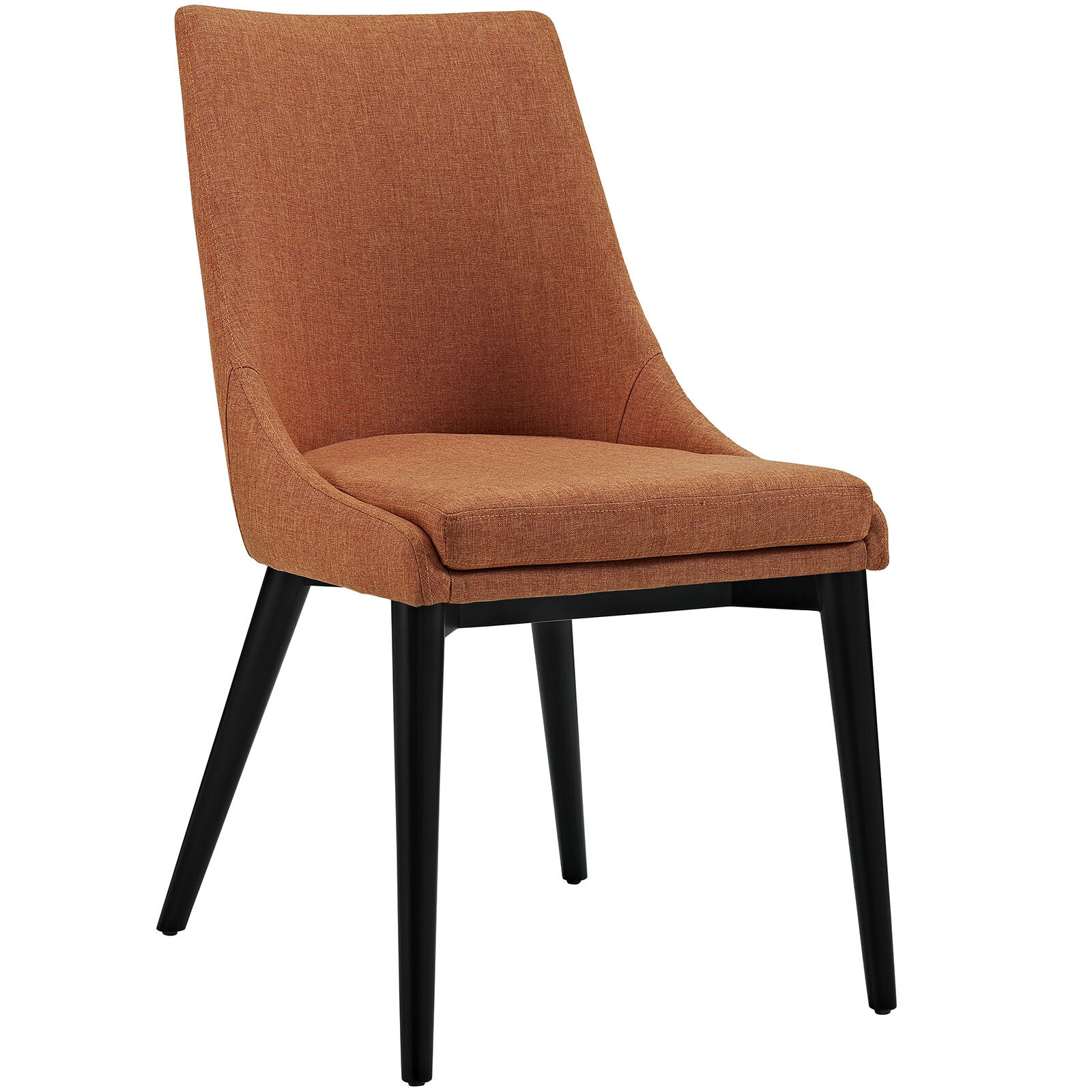 Featured Image of Carlton Wood Leg Upholstered Dining Chairs
