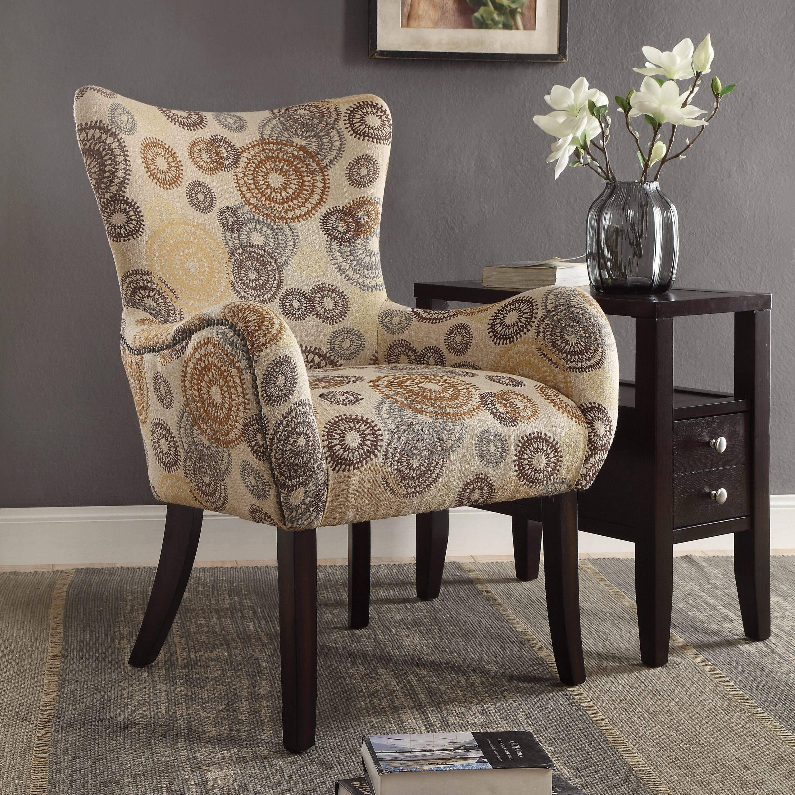 Carneys Wingback Chair In Waterton Wingback Chairs (View 10 of 15)