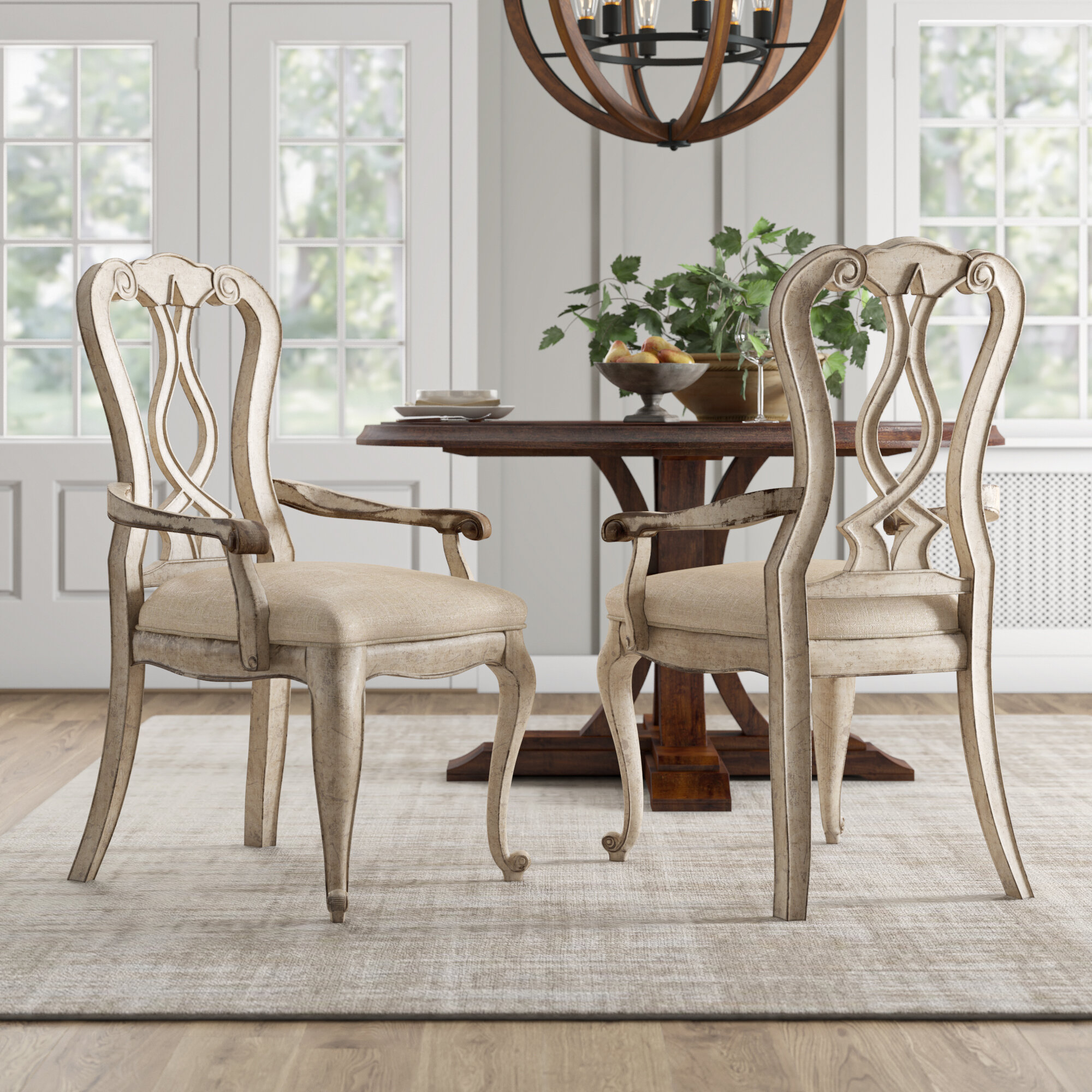 Chatelet Solid Wood Dining Chair In Aaliyah Parsons Chairs (View 14 of 15)