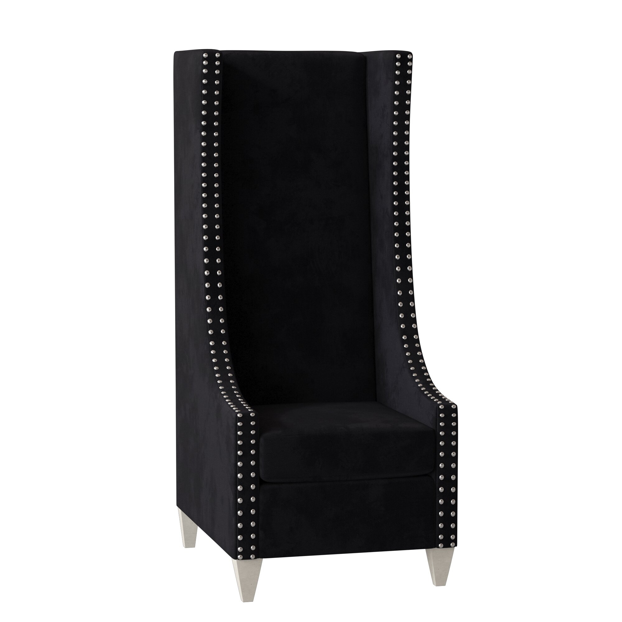 Chenille Wingback Accent Chairs You'Ll Love In 2021 | Wayfair In Saige Wingback Chairs (View 5 of 15)