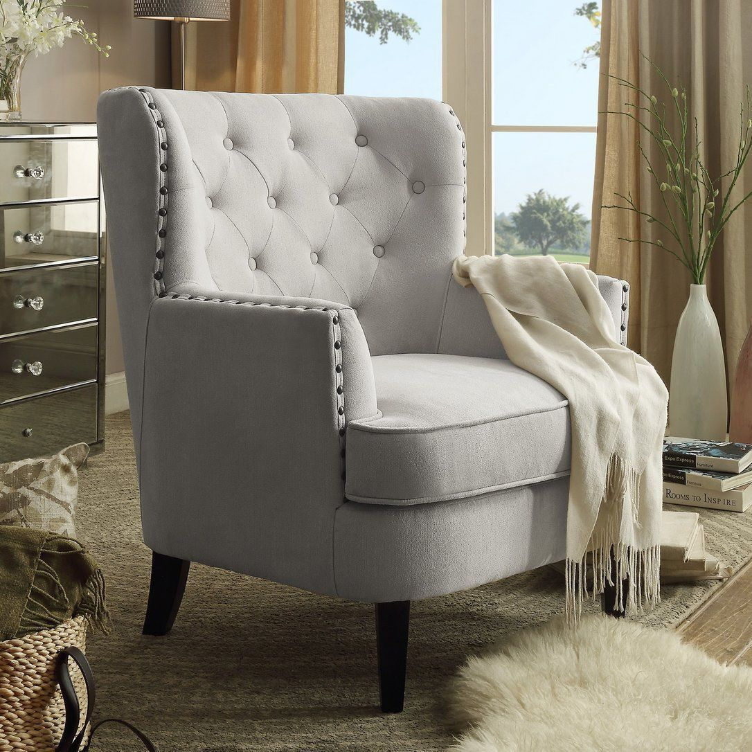 Chrisanna Wingback Chair Birch Lane #Wingbackchair With Young Armchairs By Birch Lane (View 14 of 15)