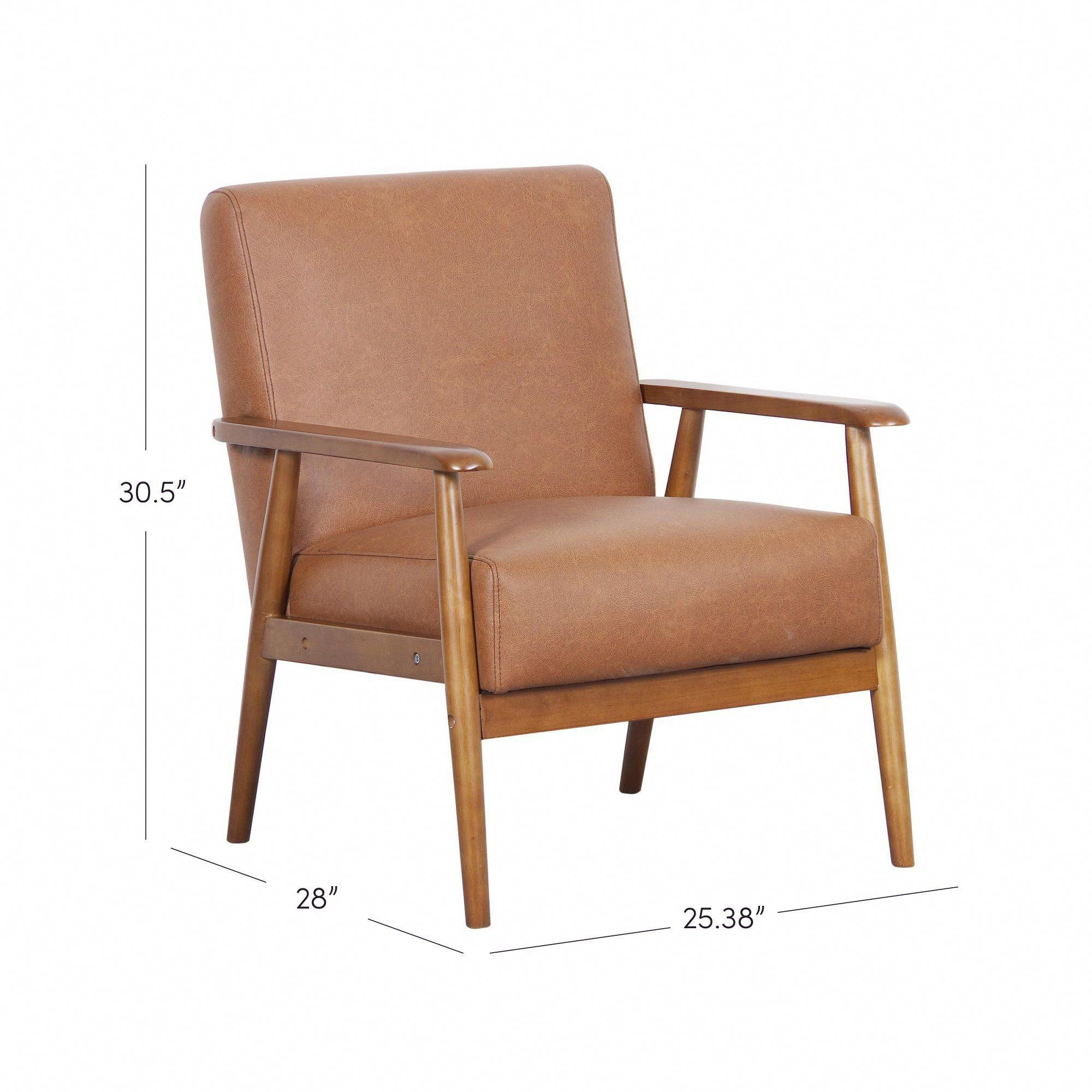 Colorfulchairs | Faux Leather Chair, Armchair, Leather Chair With Regard To Jarin Faux Leather Armchairs (View 4 of 15)