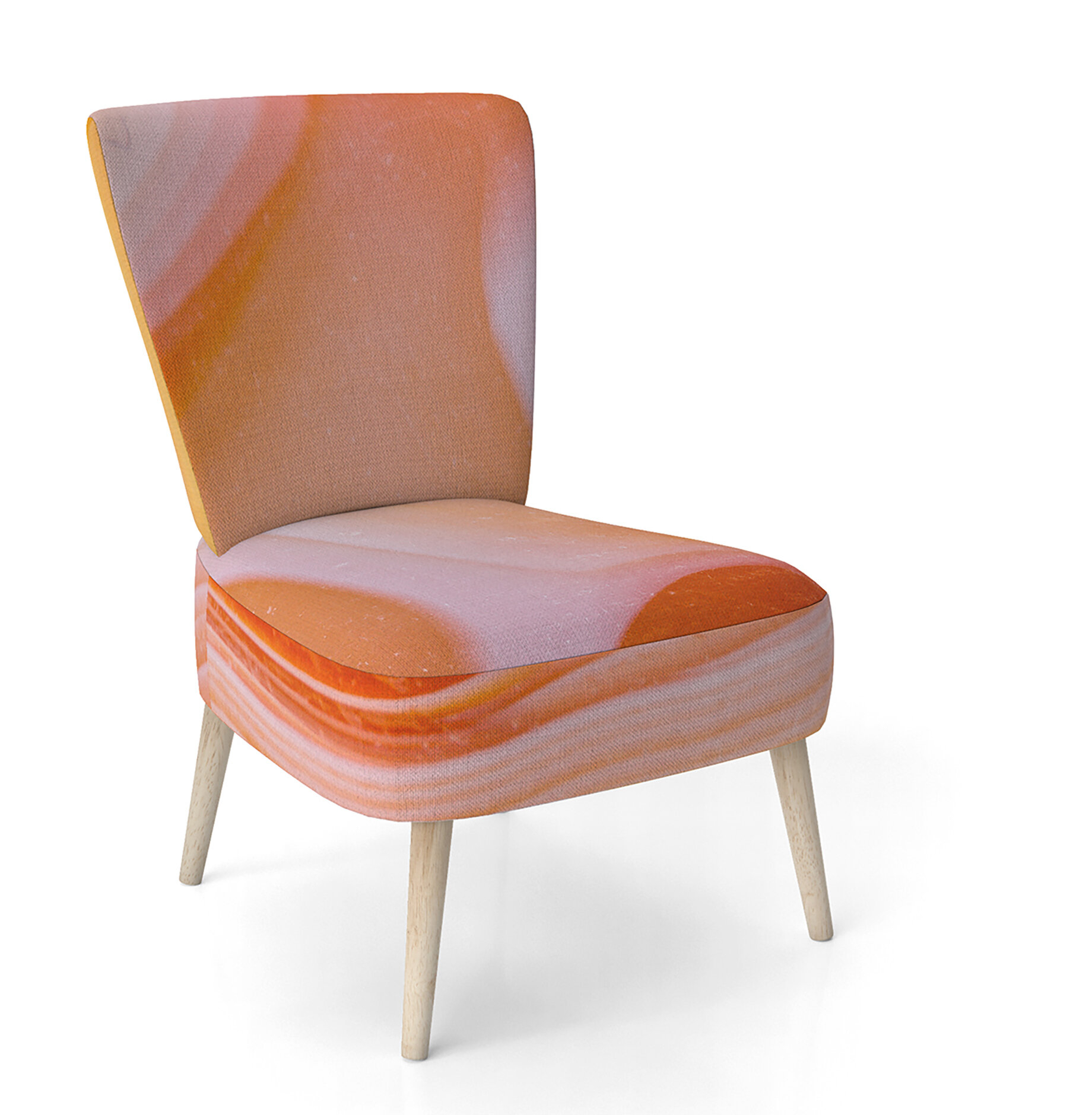 Commercial Use Orange Small Accent Chairs You'Ll Love In Inside Artressia Barrel Chairs (View 12 of 15)
