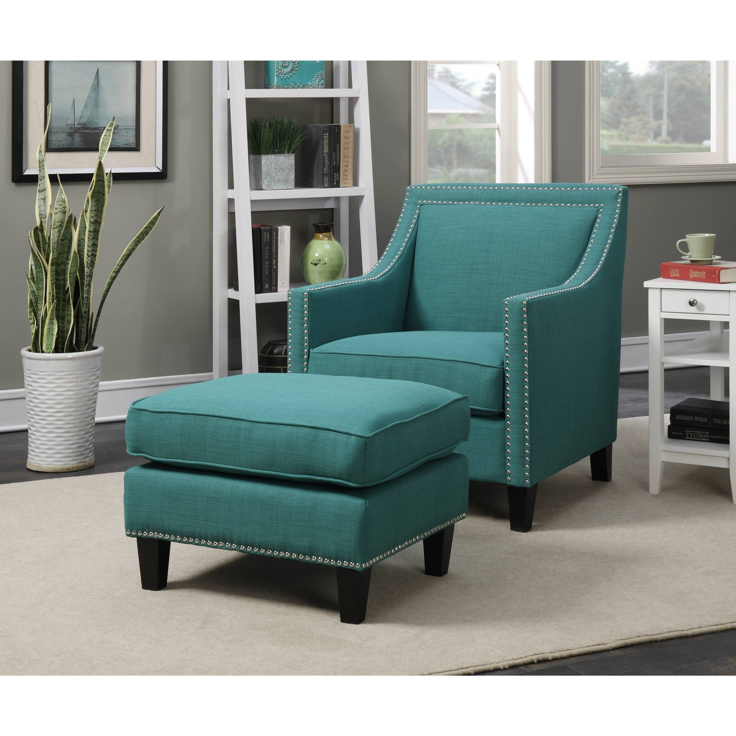 Featured Image of Modern Armchairs And Ottoman