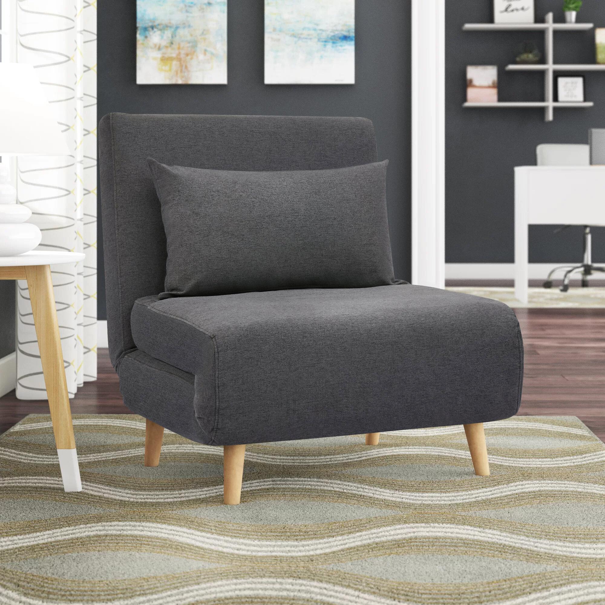 Corrigan Studio® Bolen Convertible Chair & Reviews | Wayfair With Regard To Bolen Convertible Chairs (View 2 of 15)