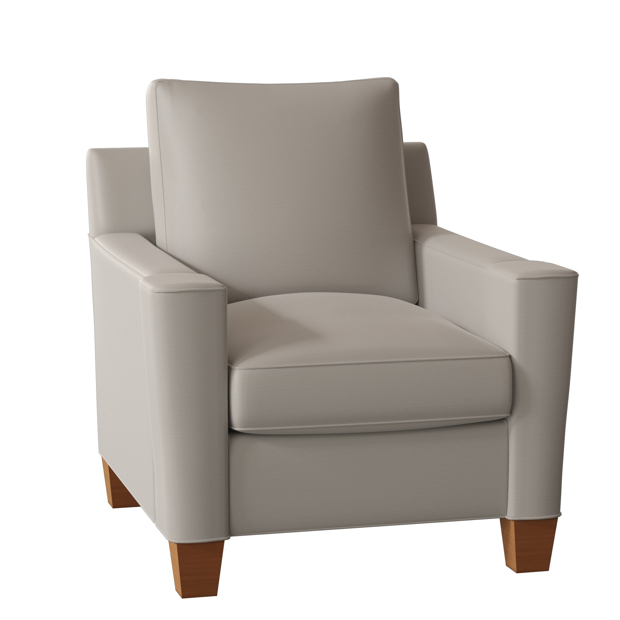 Cosmo Armchair For Alexander Cotton Blend Armchairs And Ottoman (Photo 2 of 15)