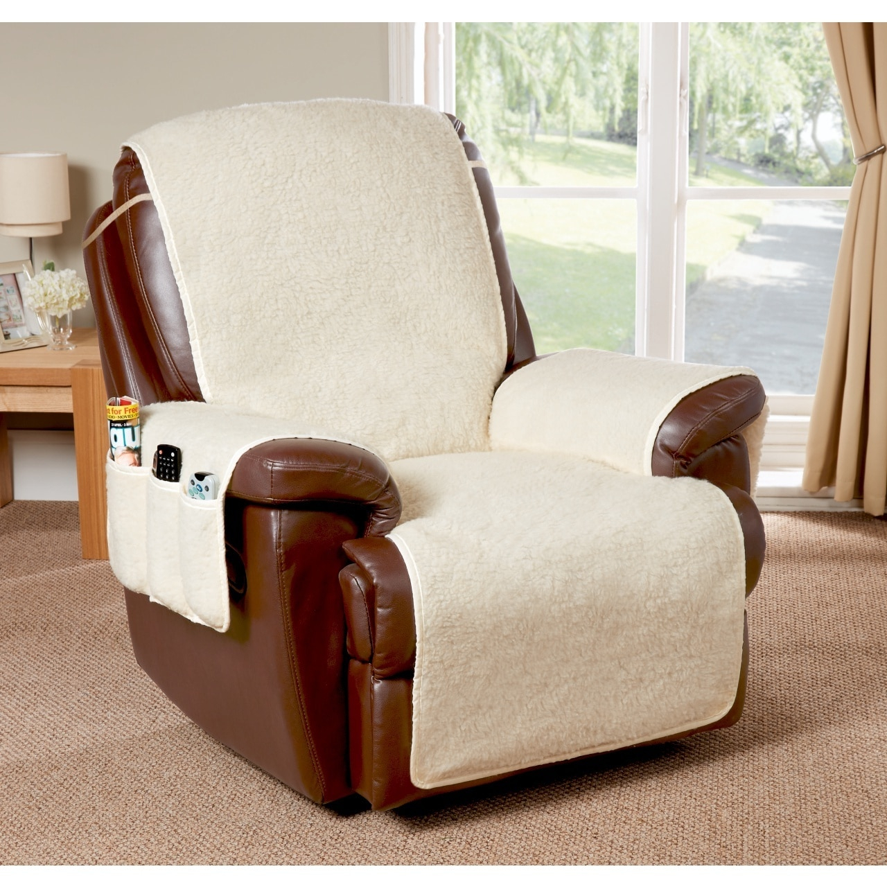 Cosy Up Armchair Or Recliner Cover Throughout Portmeirion Armchairs (View 5 of 15)