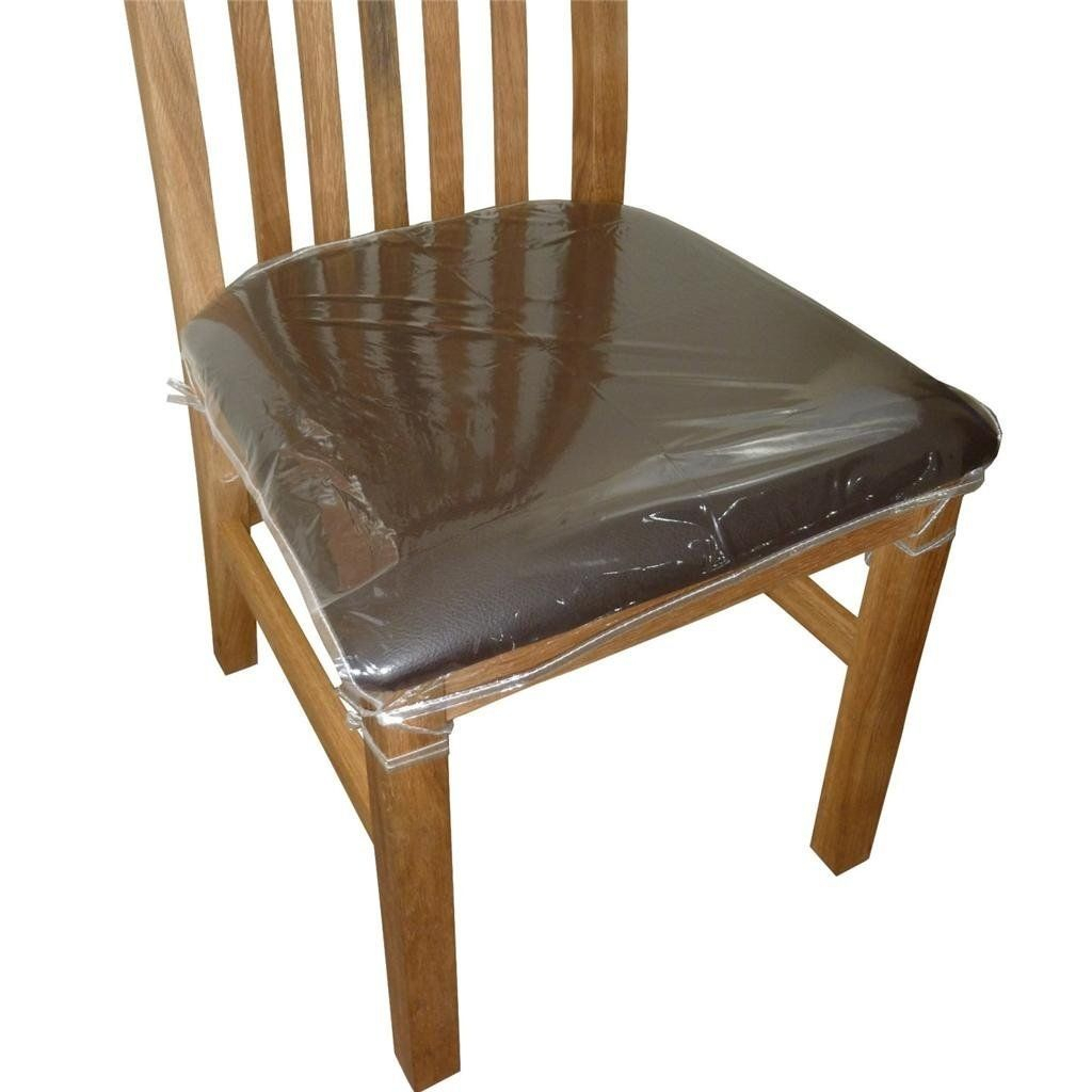 Covering Chair Seats With Plastic | Dining Chair Seat Covers Regarding Liston Faux Leather Barrel Chairs (View 10 of 15)