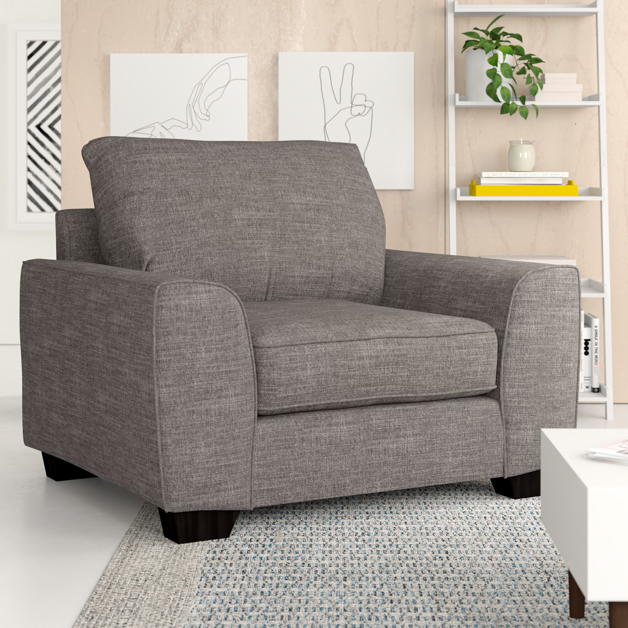 Dallin Armchair Throughout Dallin Arm Chairs (View 2 of 15)