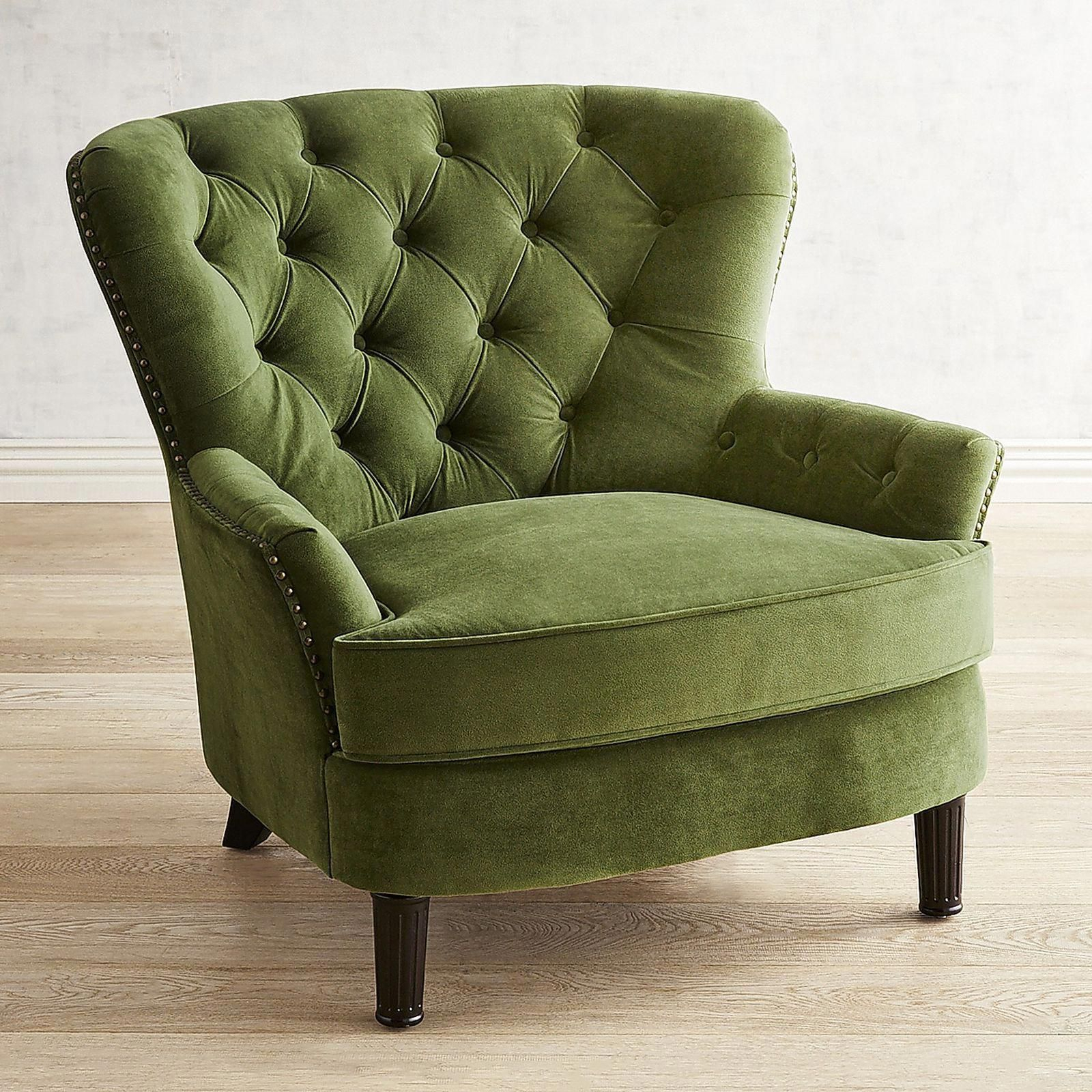 Dang! I Genuinely Prefer This Coloring For These Inside Didonato Tufted Velvet Armchairs (View 11 of 15)