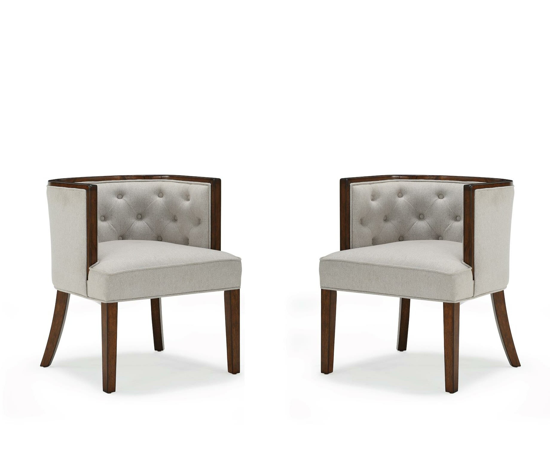 "Danny 20"" Barrel Chair (Set Of 2) Inside Ziaa Barrel Chairs (View 11 of 15)"