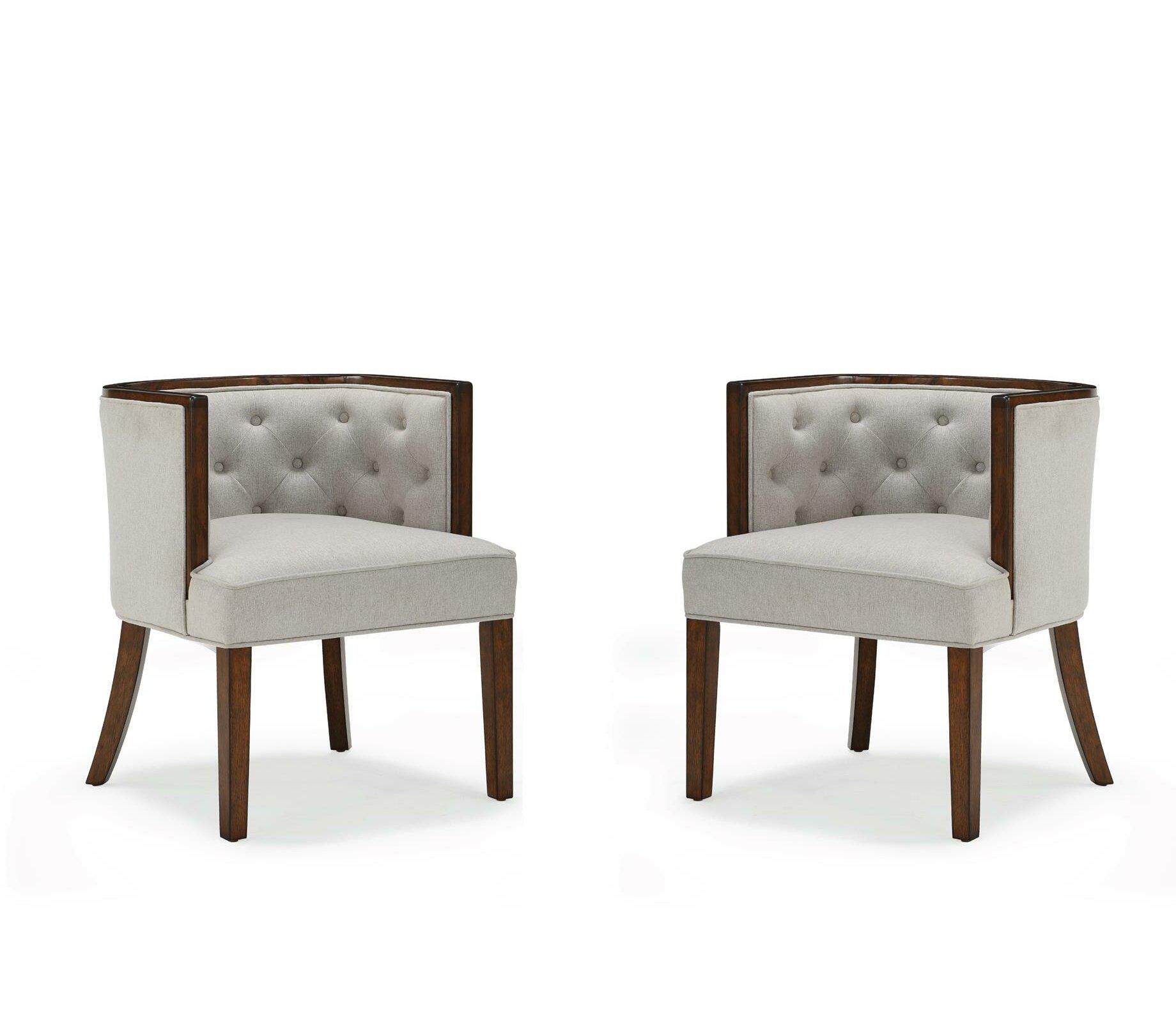 "Danny 20"" Barrel Chair (Set Of 2) Regarding Danny Barrel Chairs (Set Of 2) (View 3 of 15)"