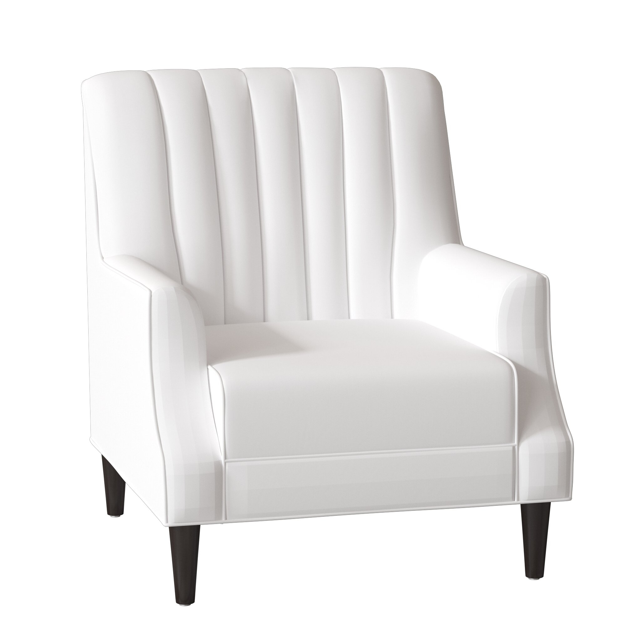 Dara Armchair Throughout Sweetwater Wingback Chairs (View 9 of 15)