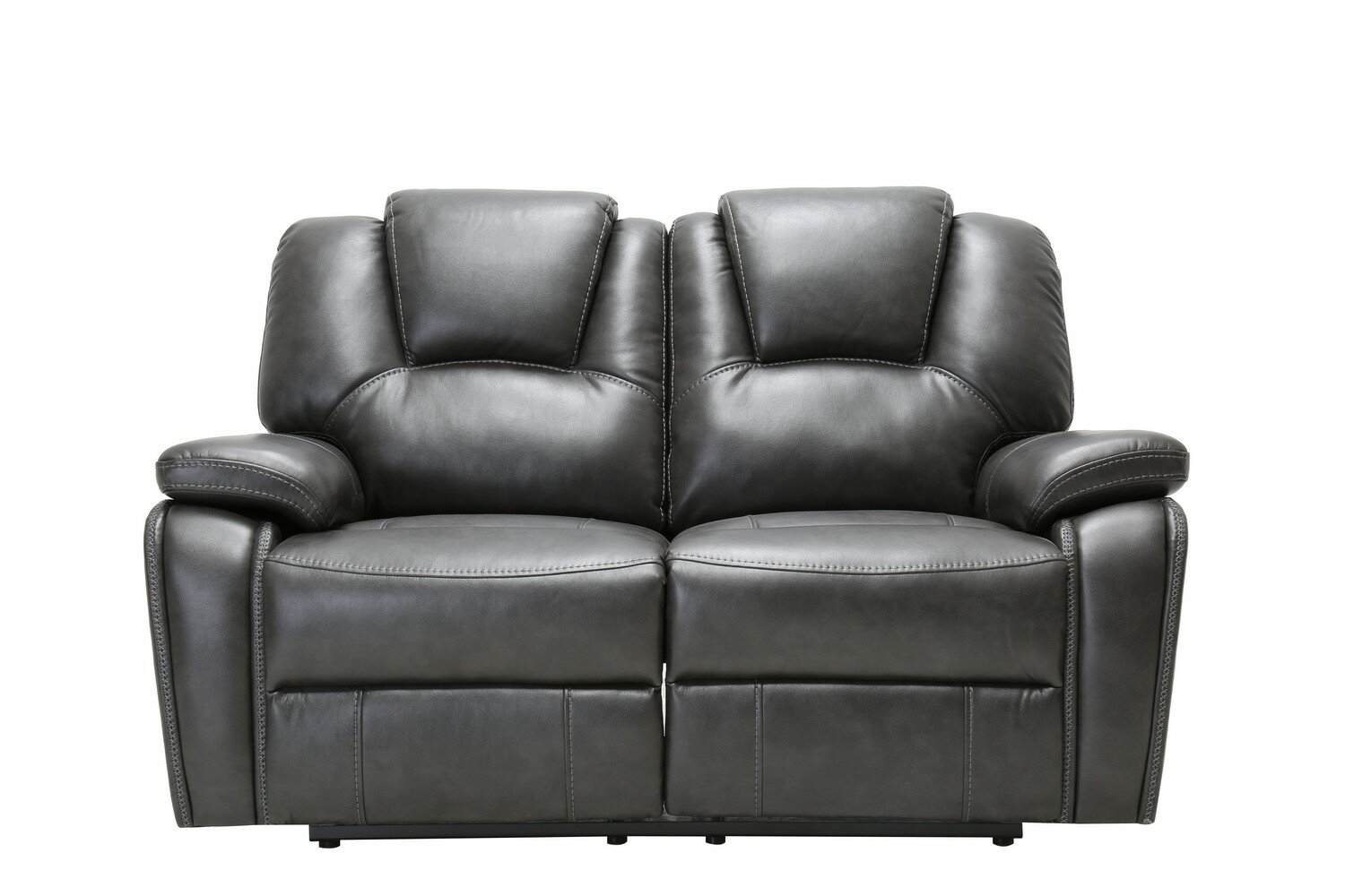 """Demri Reclining 62"""" Pillow Top Arms Loveseat With Hallsville Performance Velvet Armchairs And Ottoman (View 9 of 15)"""