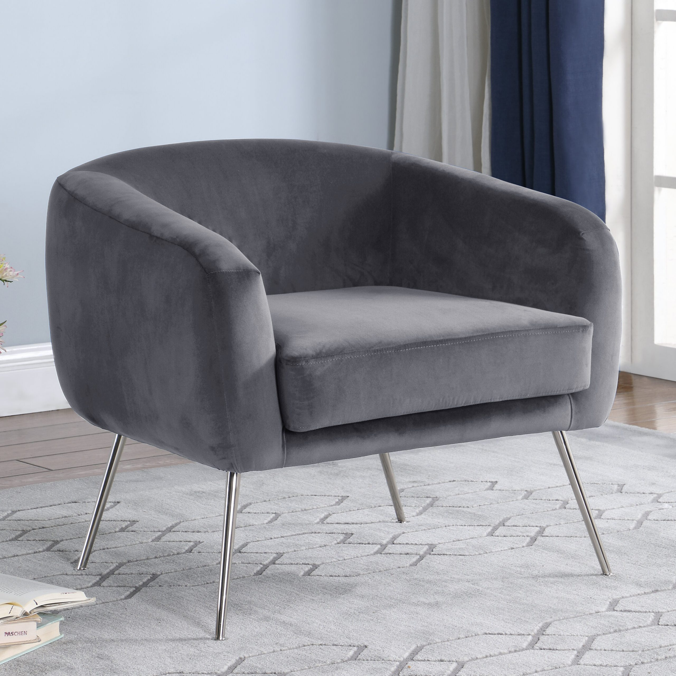 Dona Fabric Armchair For Helder Armchairs (View 13 of 15)
