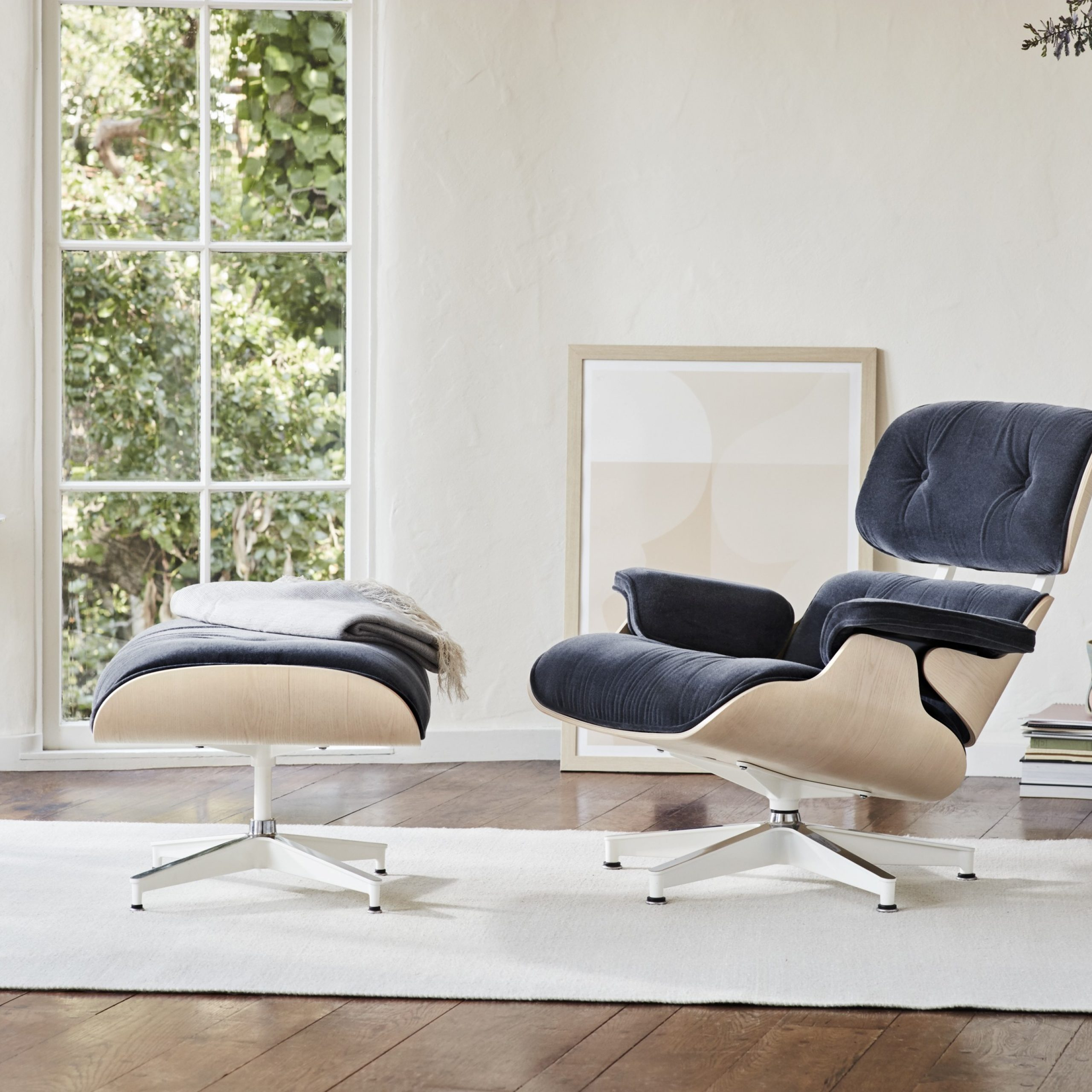 Eames Lounge Chair With Regard To Armory Fabric Armchairs (View 8 of 15)