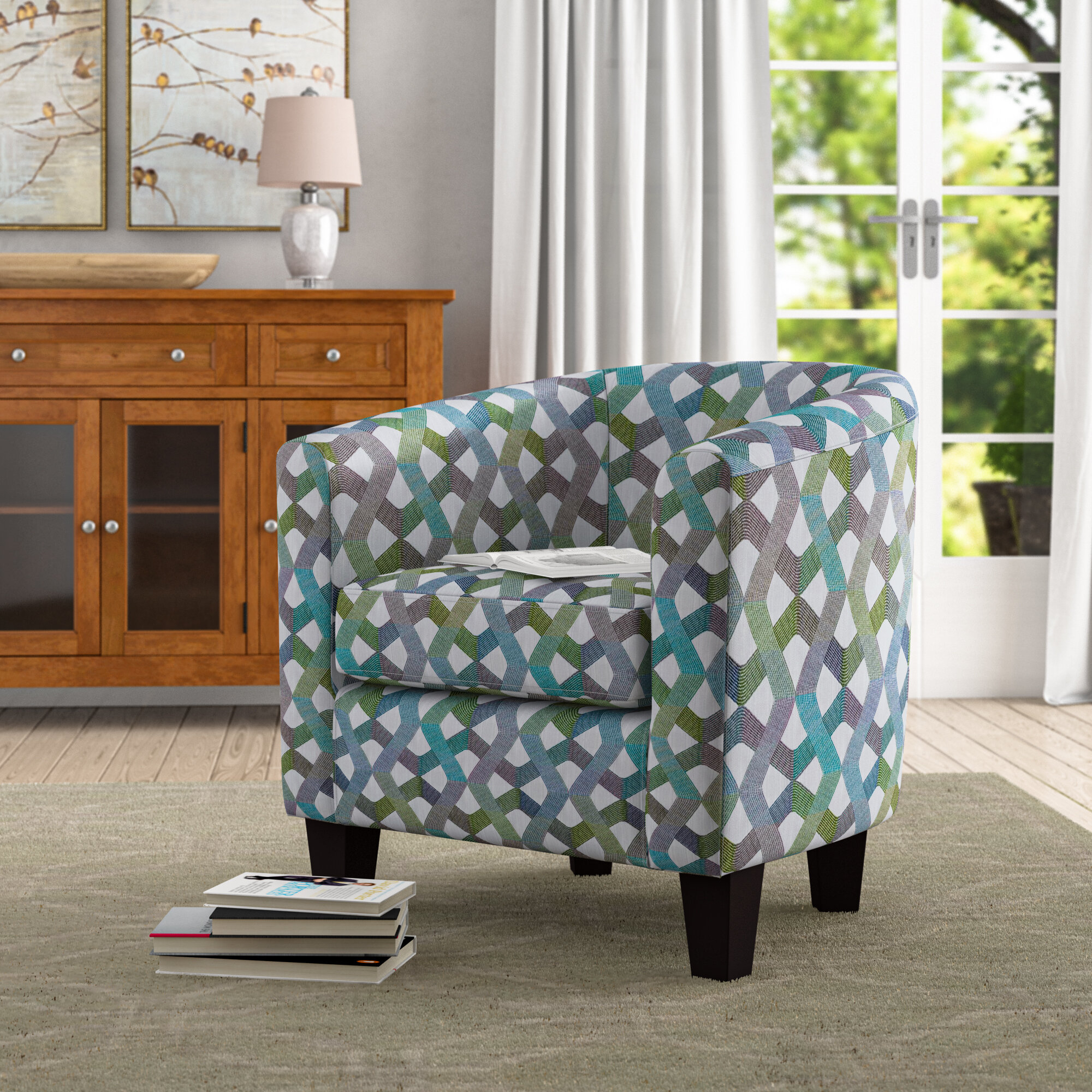 Ebern Designs Accent Chairs You'Ll Love In 2021 | Wayfair For Akimitsu Barrel Chair And Ottoman Sets (View 8 of 15)