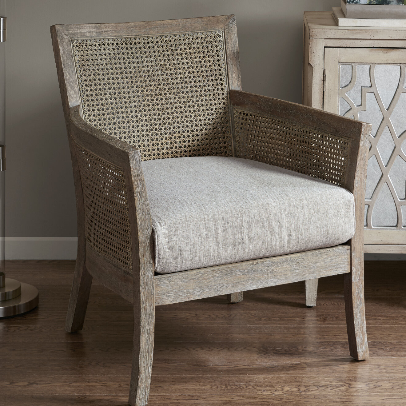 "Edgemoor 28"" W Polyester Blend Armchair Within Polyester Blend Armchairs (View 7 of 15)"