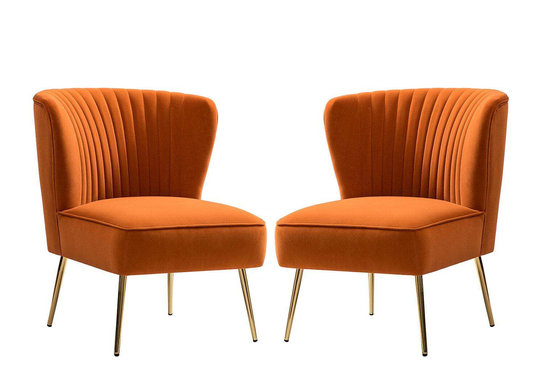 Erasmus Side Chair Regarding Erasmus Velvet Side Chairs (Set Of 2) (View 4 of 15)