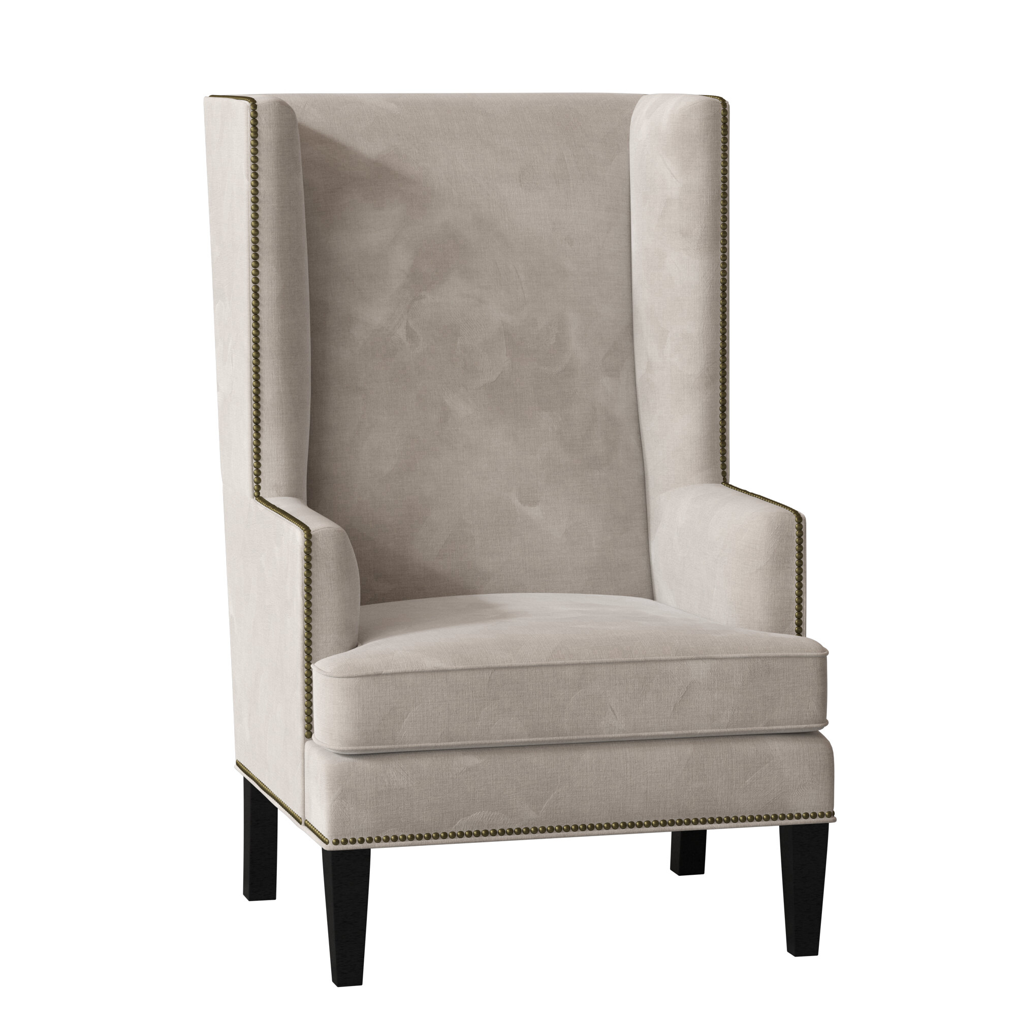 Espresso Wood Wingback Accent Chairs You'Ll Love In 2021 Inside Waterton Wingback Chairs (View 8 of 15)