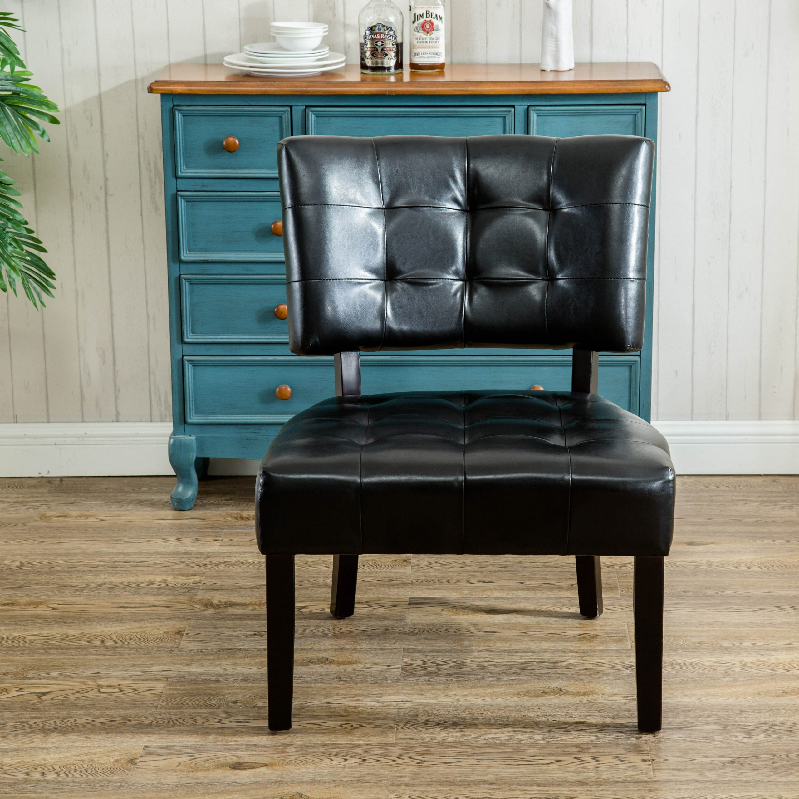 Faux Leather Accent Chairs Under $150 You'Ll Love In 2021 Intended For Ansar Faux Leather Barrel Chairs (View 8 of 15)