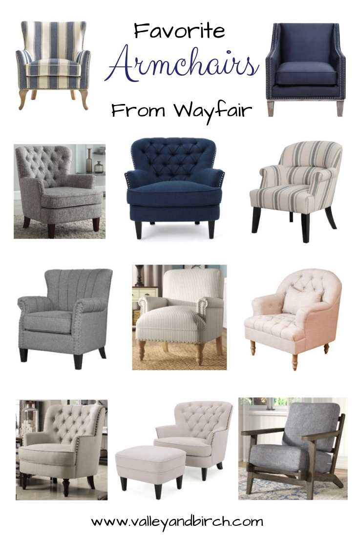 Favourite Armchairs From Wayfair – Valley + Birch With Regard To Jayde Armchairs (View 7 of 15)